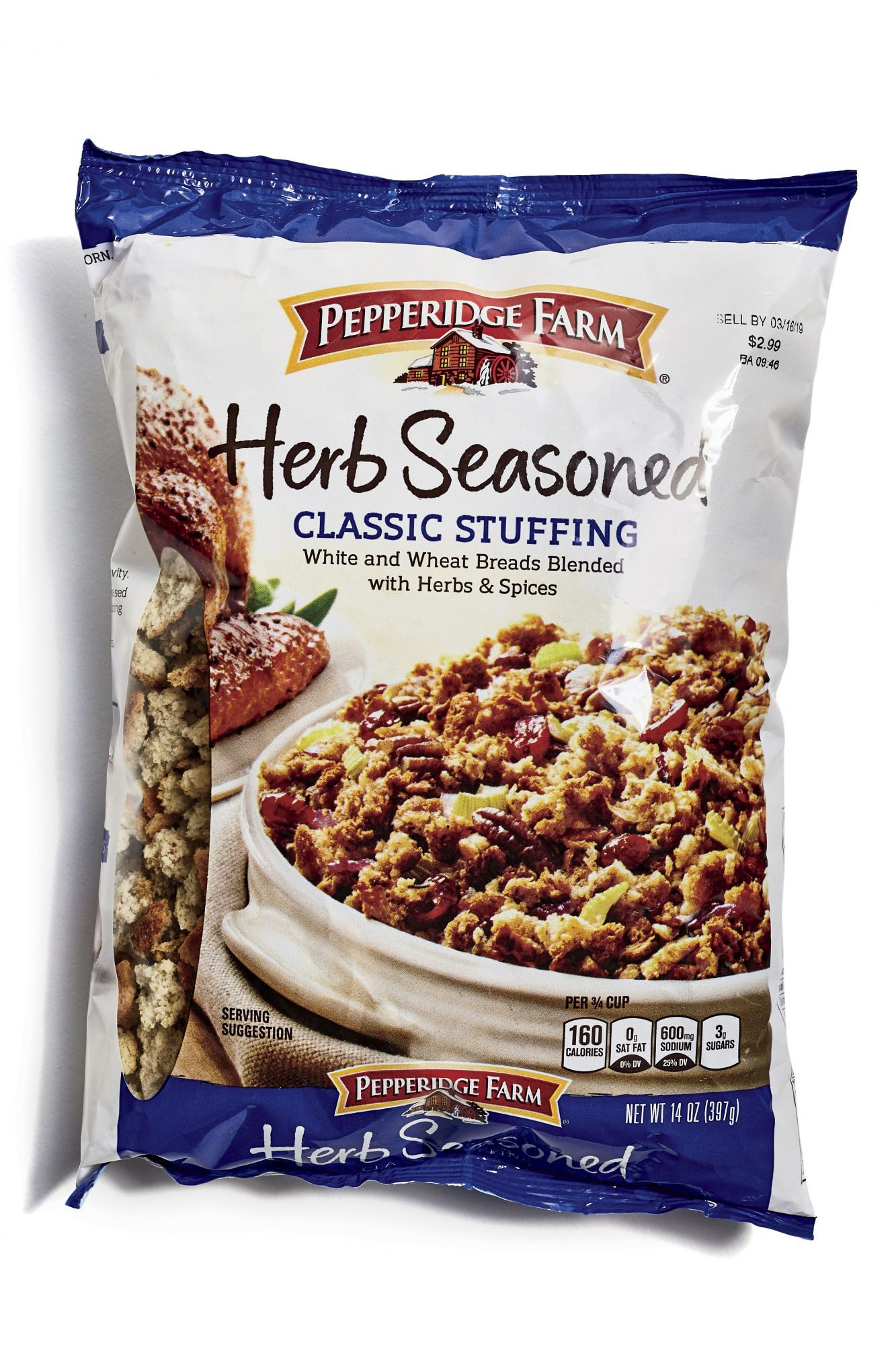 Pepperidge Farms Herb Seasoned Classic Stuffing Mix
