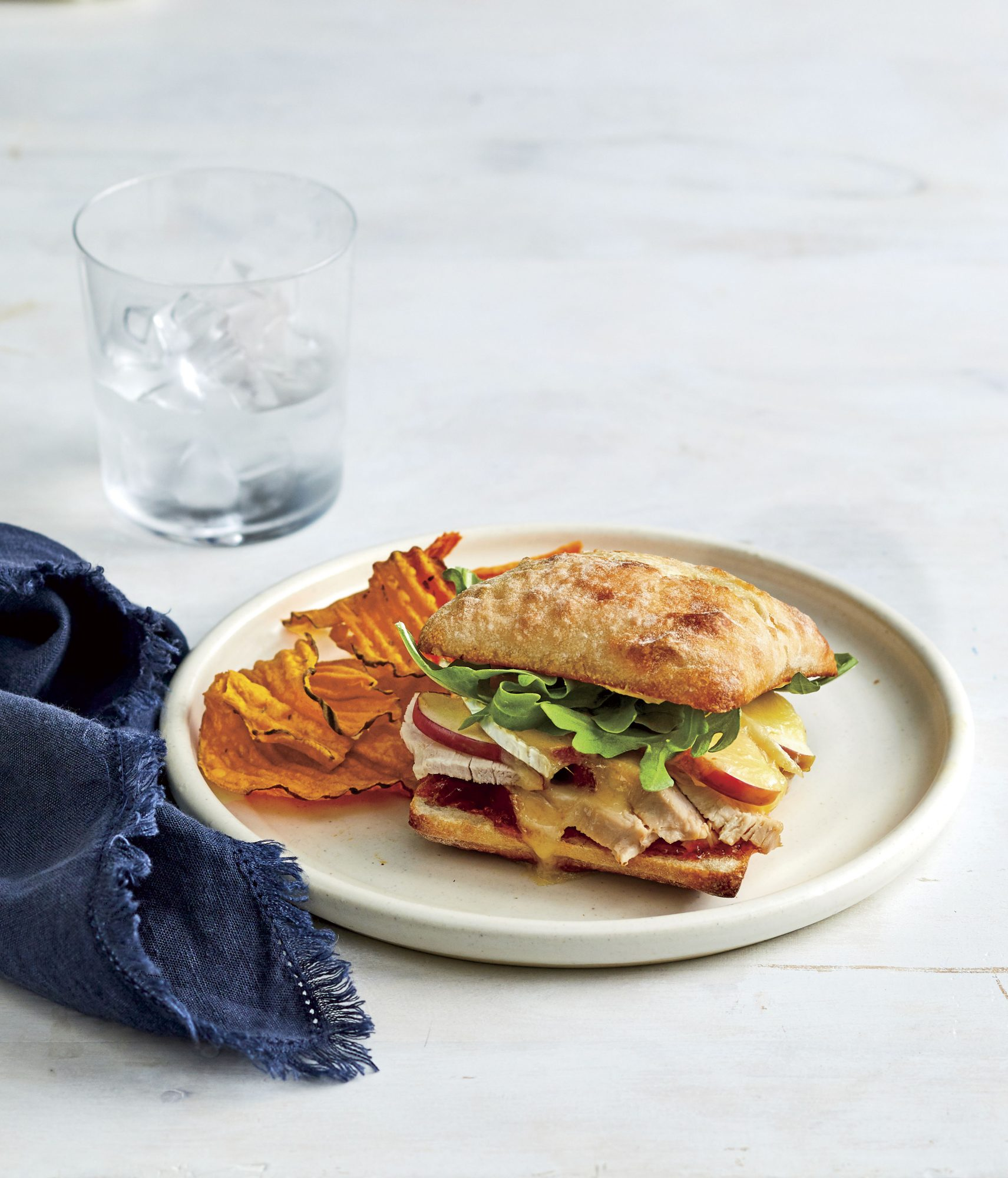 Turkey, Apple, and Brie Sandwich Recipe
