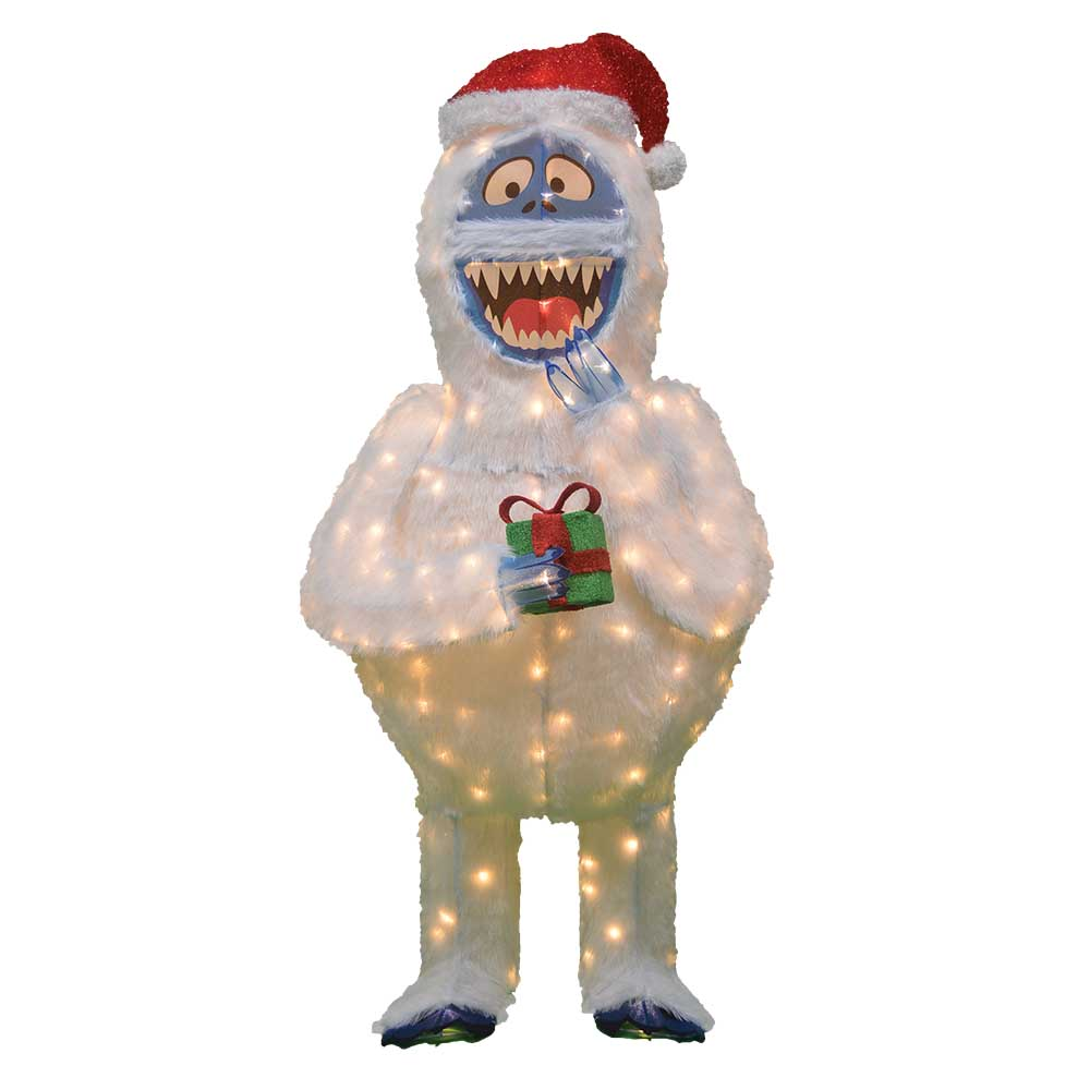 60 in. Rudolph 3D LED Bumble