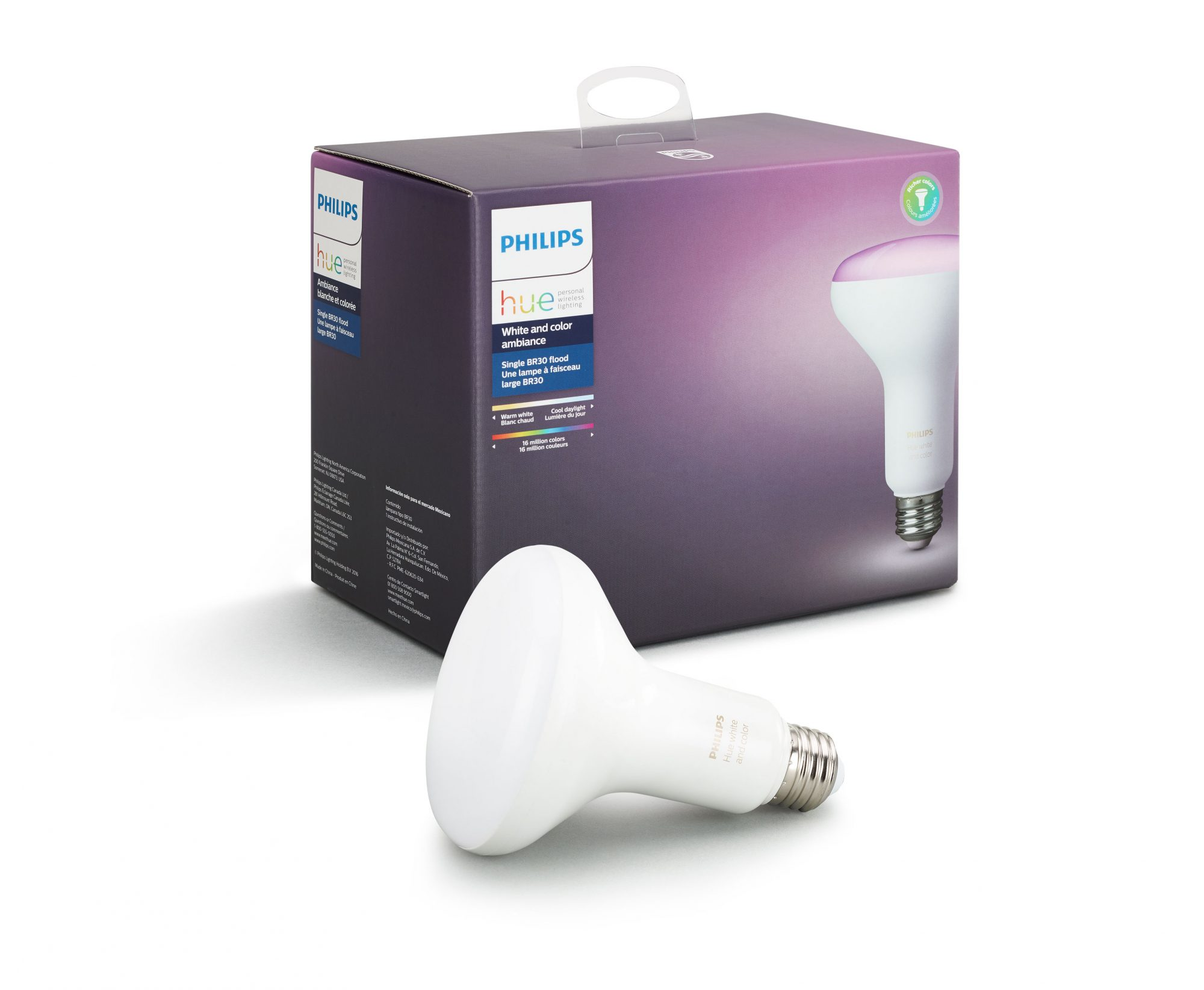 Philips Hue White and Color Ambiance LED Smart Wireless Light Bulb