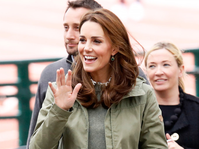 Kate Middleton Is Back from Maternity Leave — with a New Haircut and Old Boots! catherine-5
