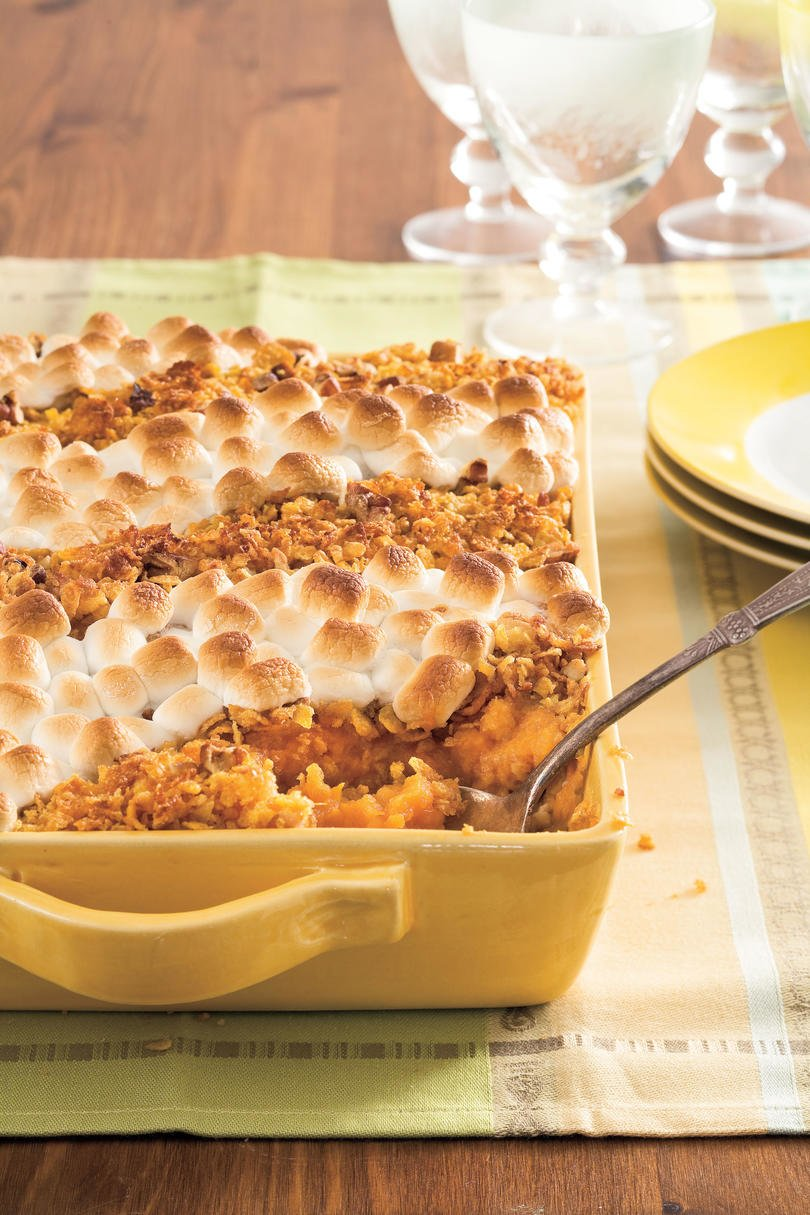 Bubbling Sweet Potato Casserole