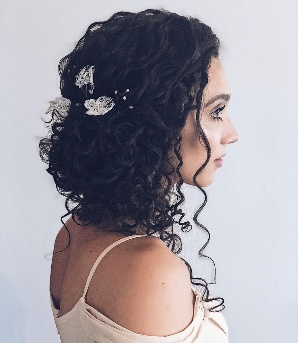 Stunning Wedding Hairstyles For Naturally Curly Hair Southern Living