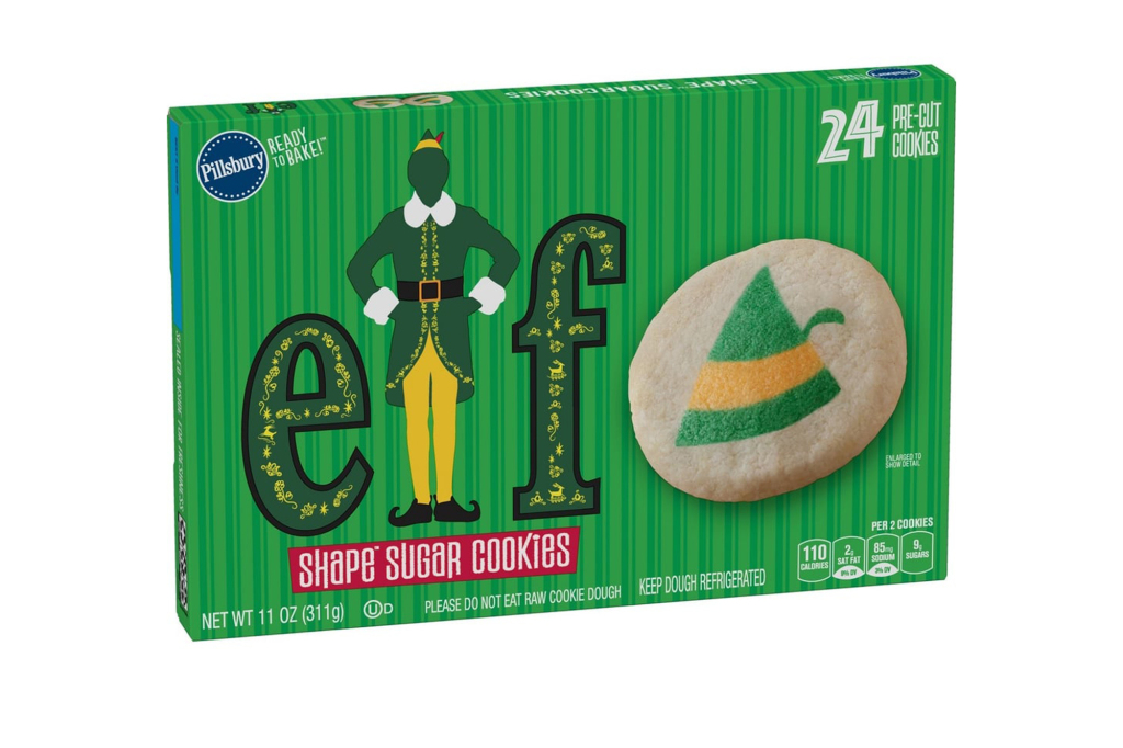 Christmas Cheer! Pillsbury Just Released Elf-Themed Sugar Cookies Featuring Buddy Himself elf-cookies-1-2000