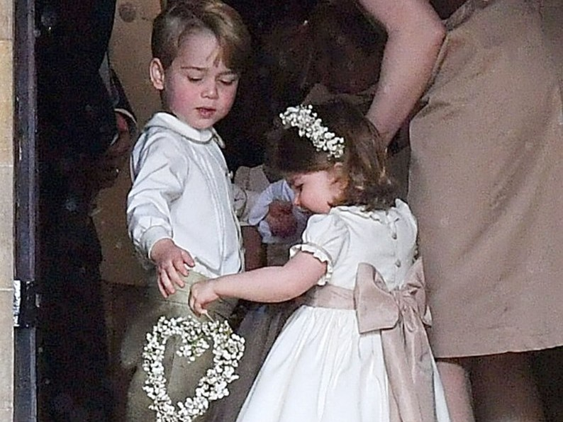 Prince George and Princess Charlotte Are Officially Set to Appear in Princess Eugenie's Wedding! gettyimages-685728314