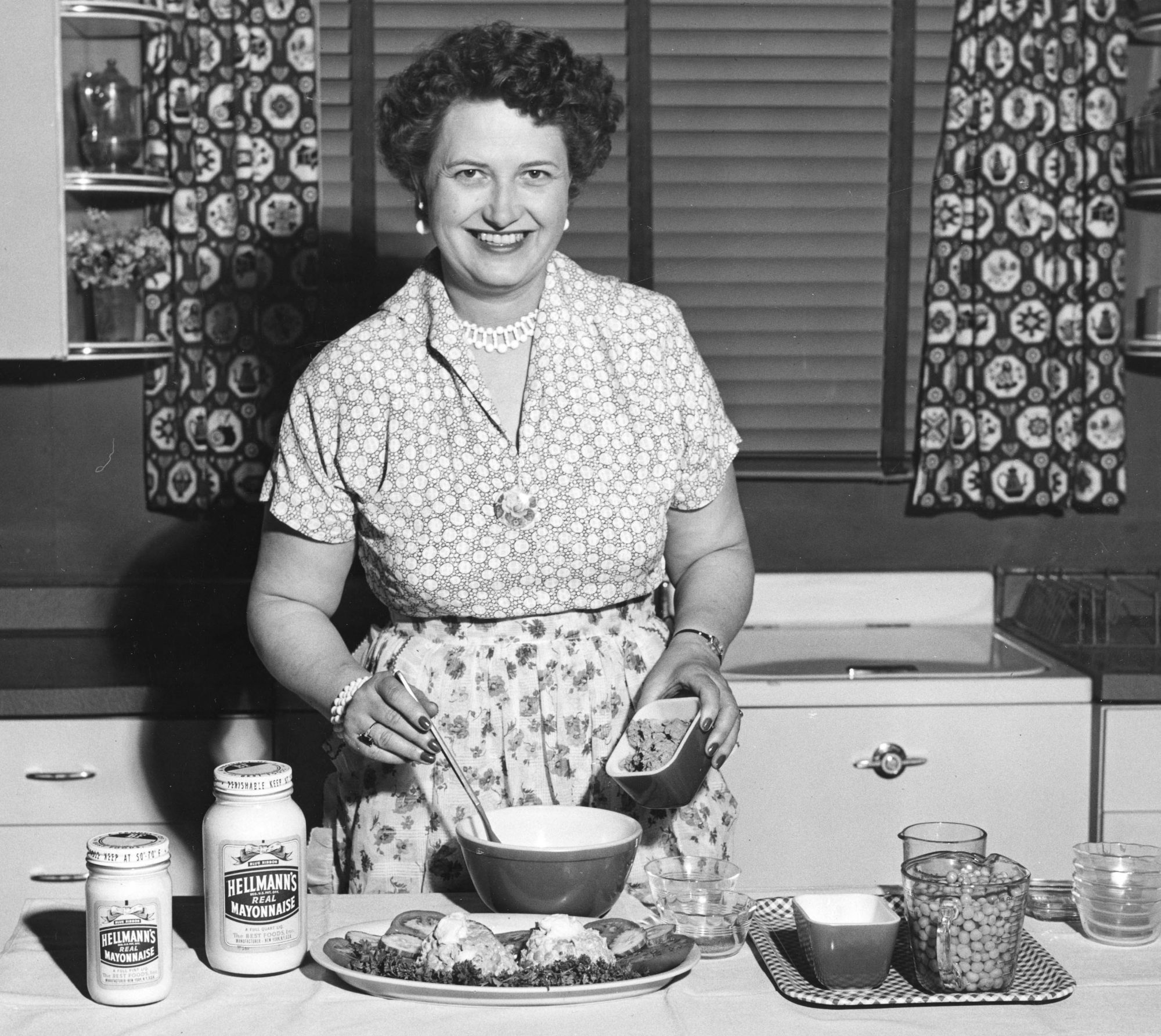 Woman Cooking with Hellman's Mayonnaise