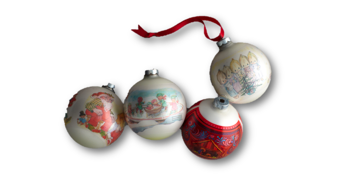 Hallmark Christmas Balls Ornaments