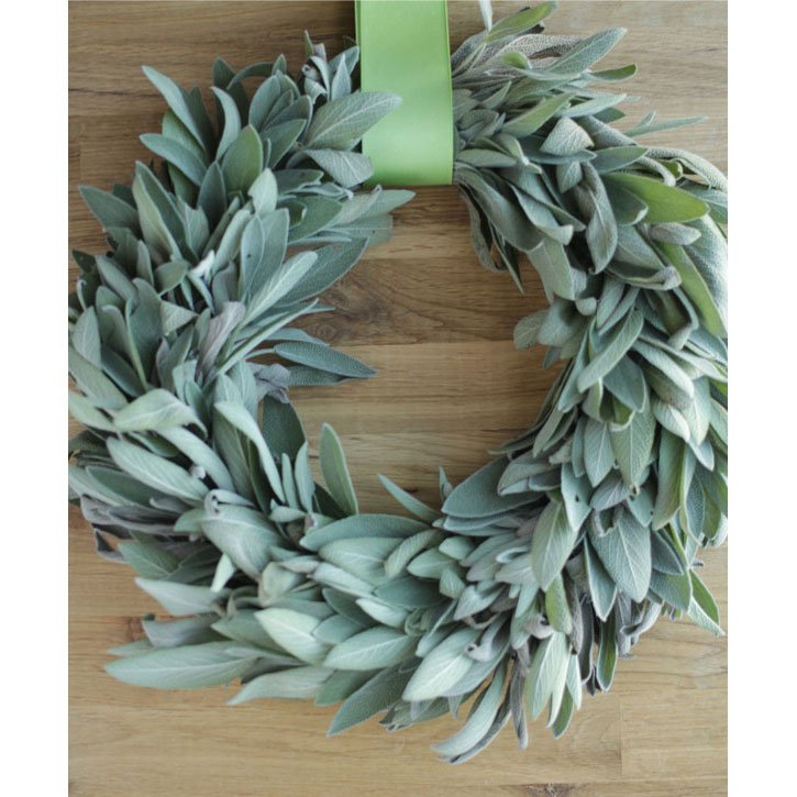 Fresh Sage Wreath