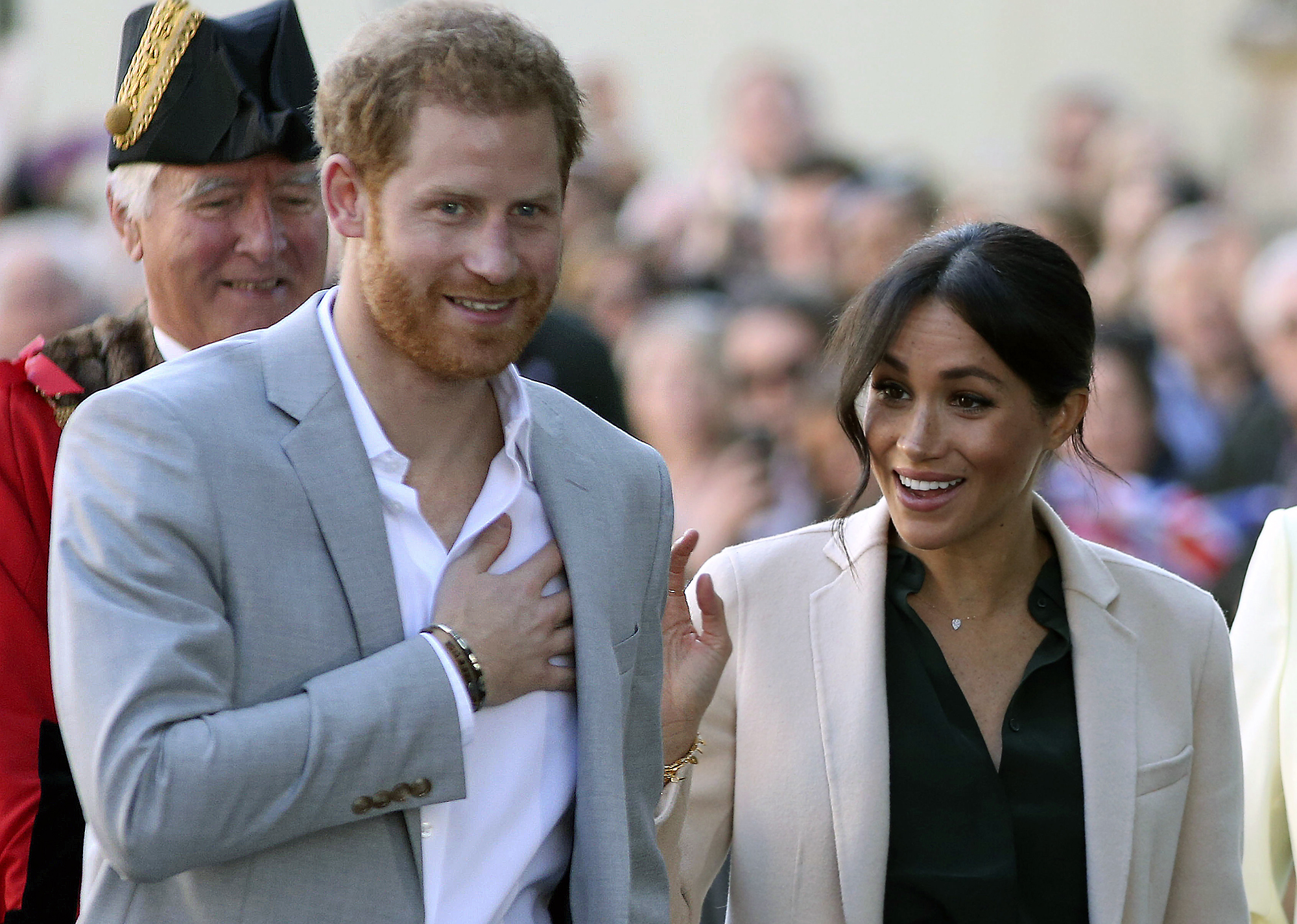 Will Meghan Markle and Prince Harry's Baby Be a U.S. Citizen? harry-meghan-2-2000