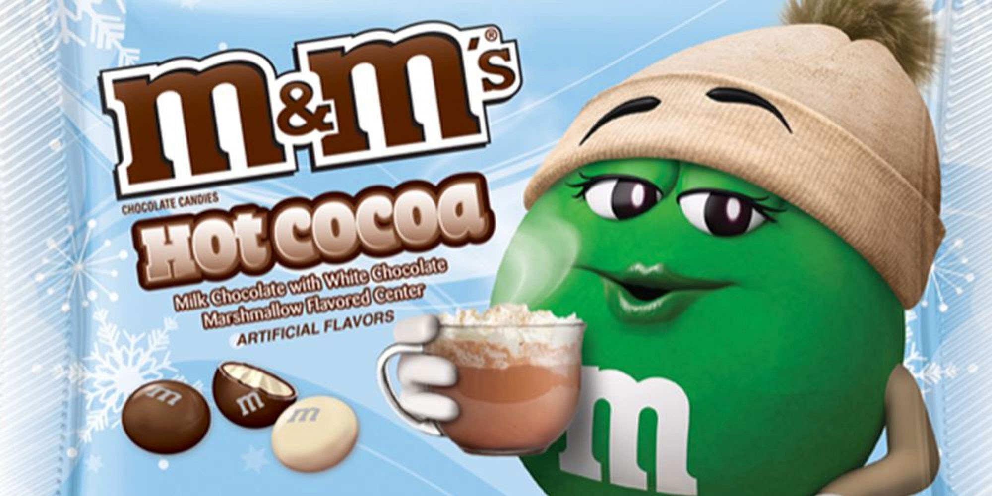 Hot Cocoa M&M's Are Returning to Store Shelves with a New Marshmallow Center