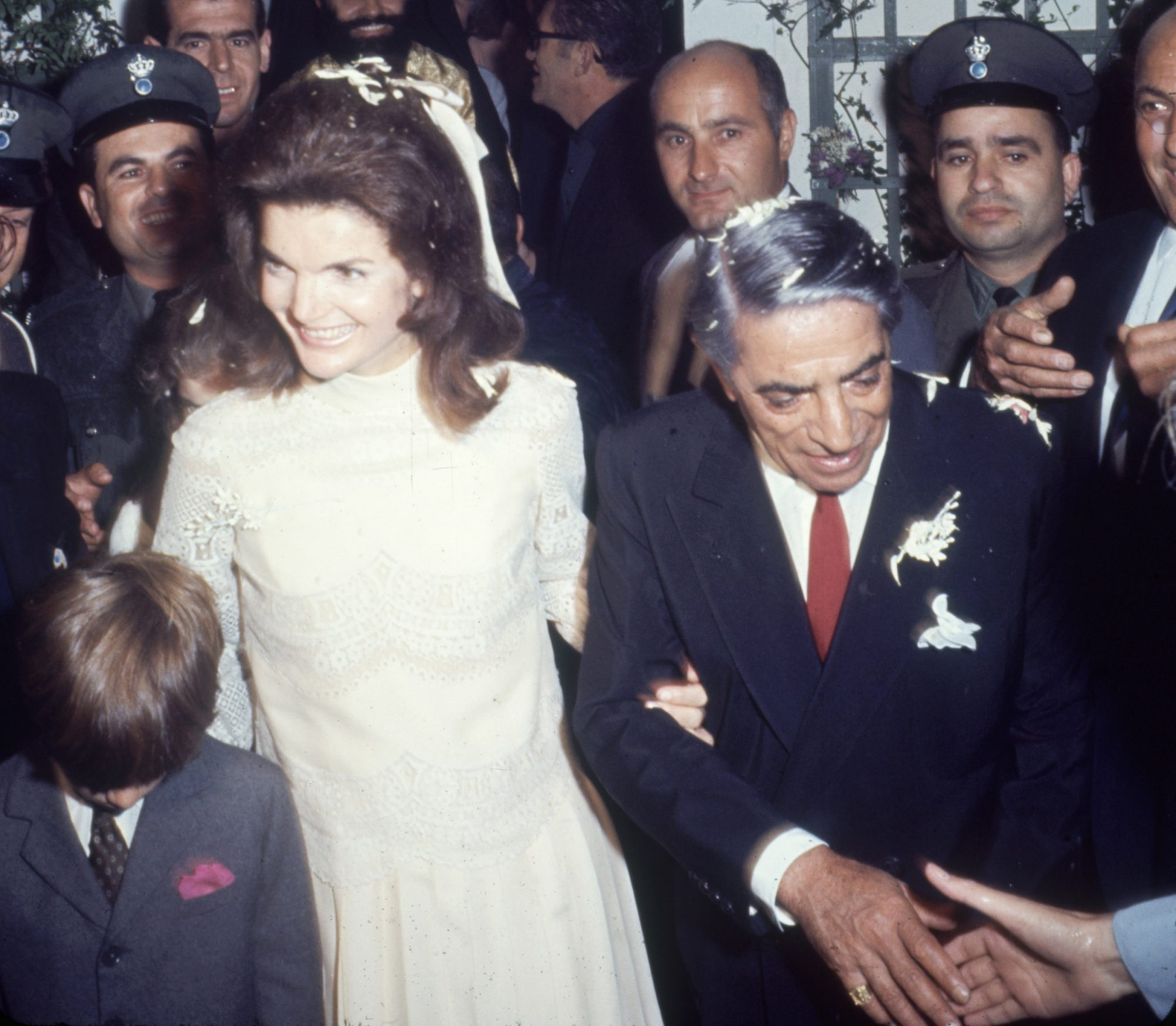 Inside the Day That Turned Jacqueline Kennedy Into 'Jackie O.' jackie-kennedy-onassis-wedding
