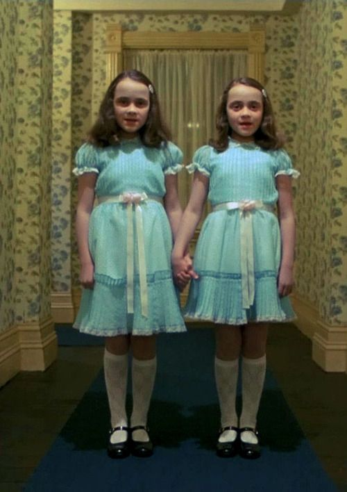 Lisa and Louise Burns, the twins from The Shining