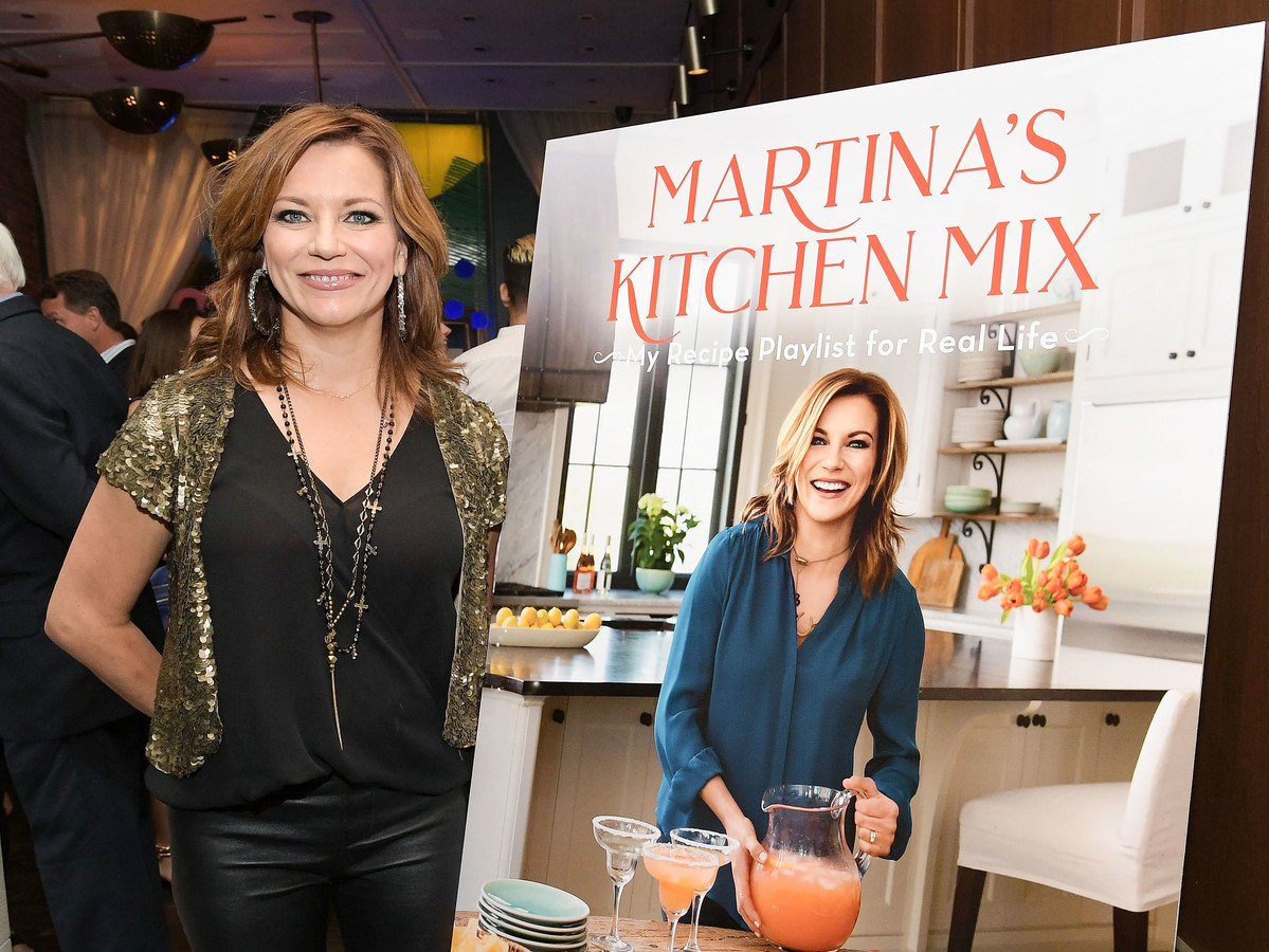 Martina McBride on What's Inspired Her New Cooking Career: 'It Had the Biggest Influence on Me' martina-mcbride