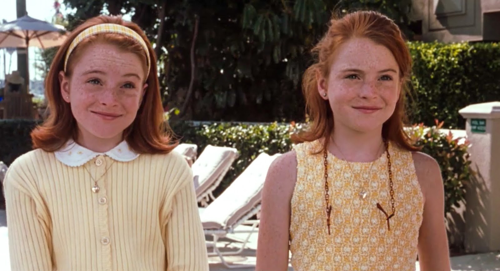 Annie James and Hallie Parker from The Parent Trap