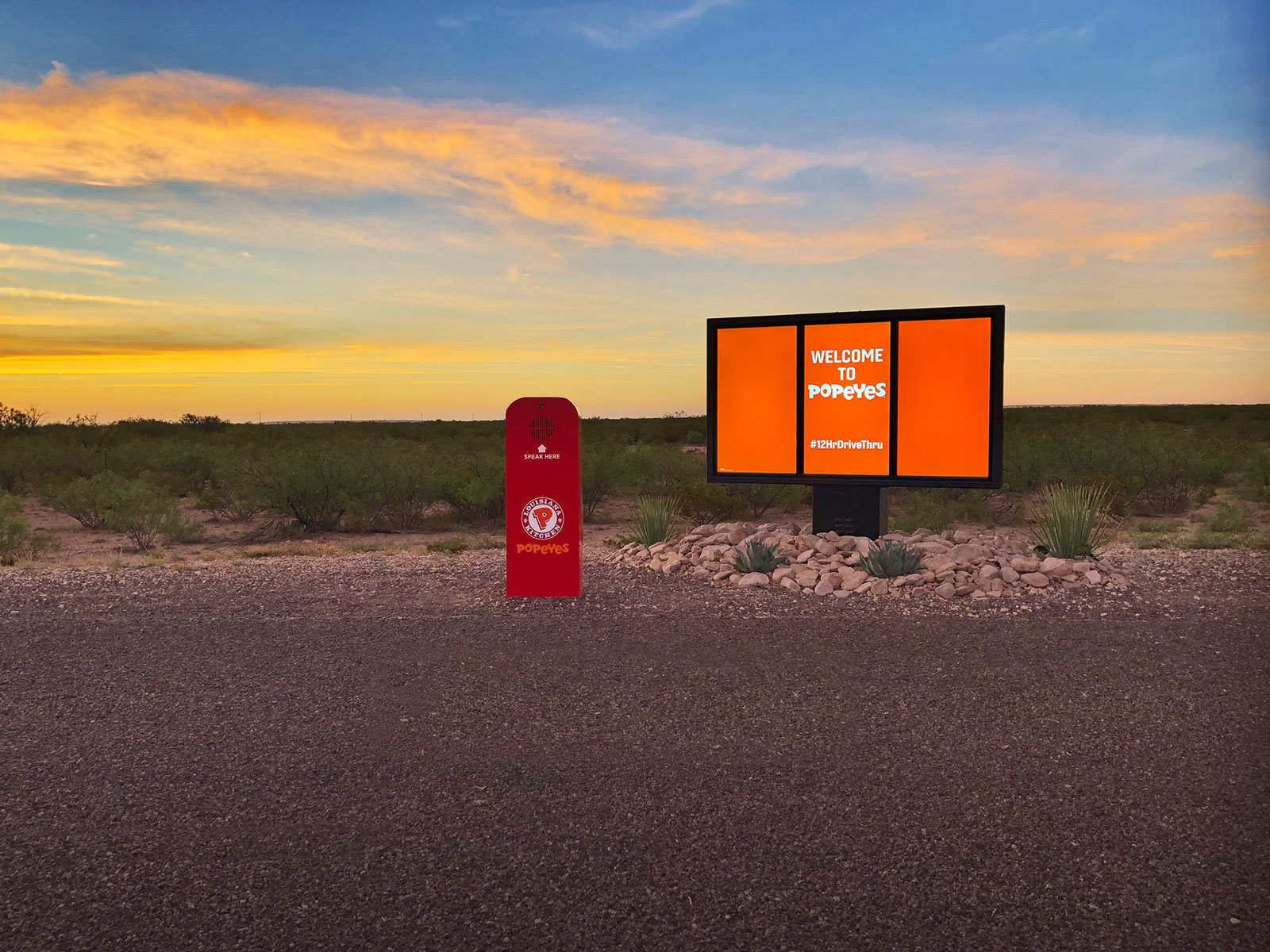 This Popeyes Drive-Thru Requires an 850-Mile Road Trip to Pick Up Your Food popeyes-12-hour-drive-thru-FT-BLOG1018