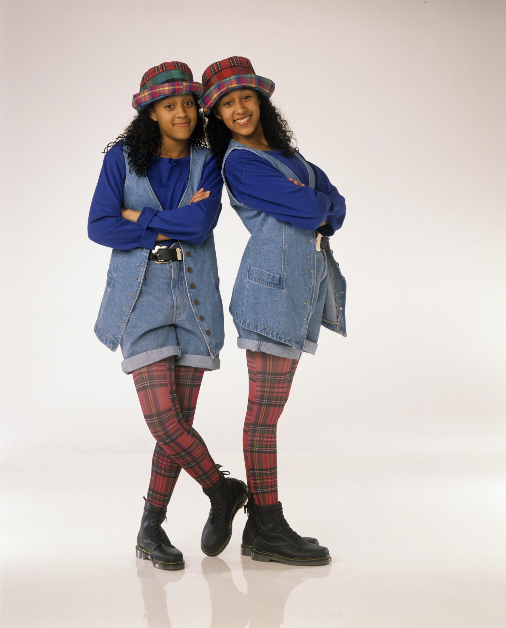Tia and Tamera Mowry as Tia Landry and Tamera Campbell From Sister, Sister