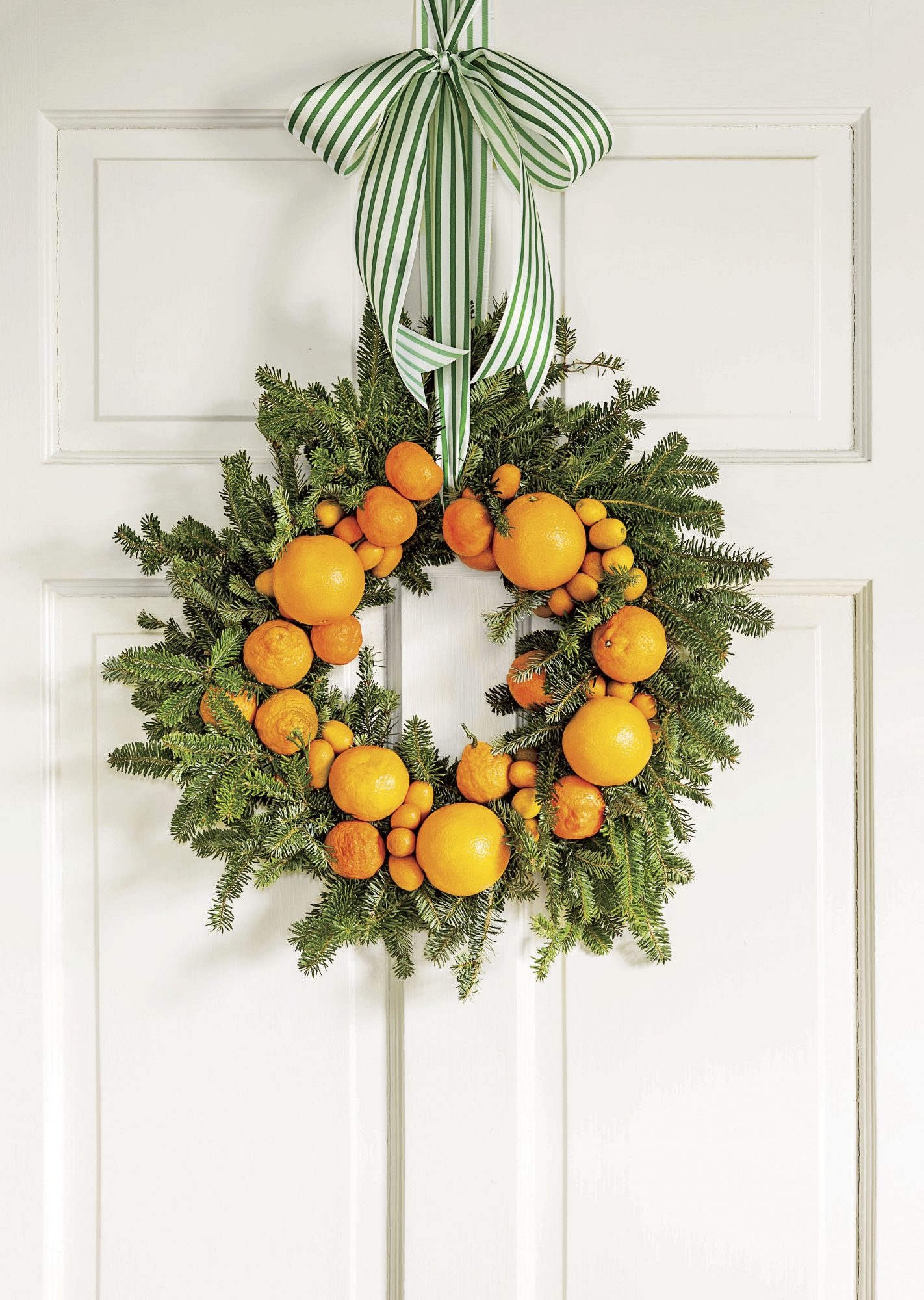 Orange Citrus Wreath
