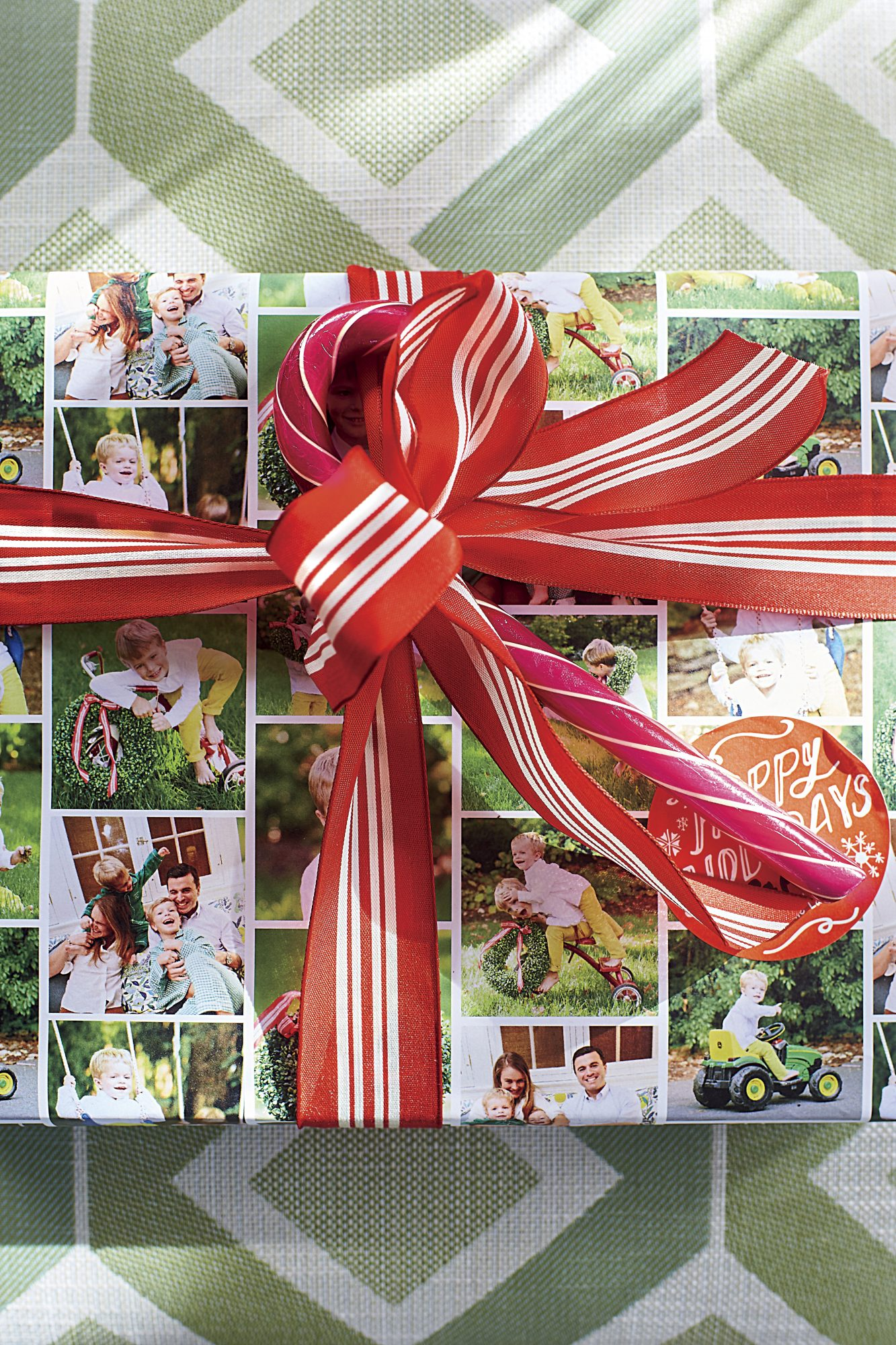 Natasha Lawler Personalized Christmas Wrapping Paper