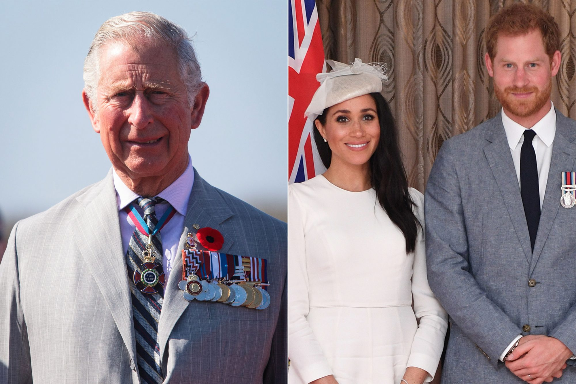 Prince Charles Reveals the Baby Names He Thinks Might Make Harry and Meghan Markle's Shortlist