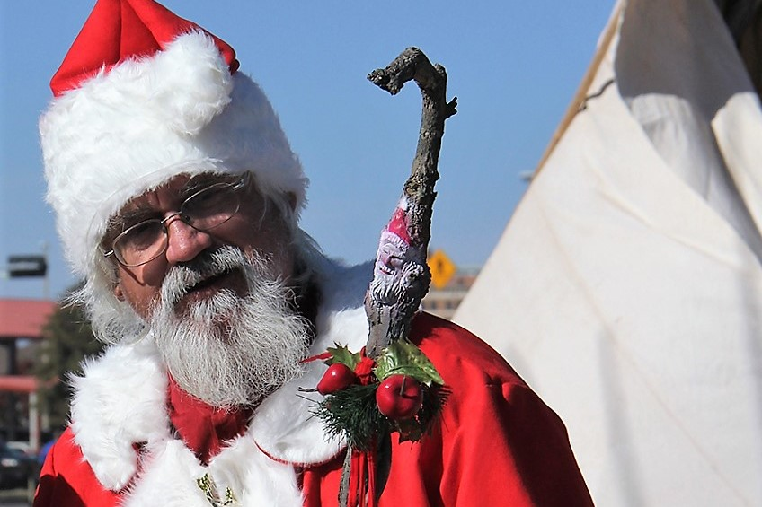 Christmas at Old Fort Concho in San Angelo, Texas