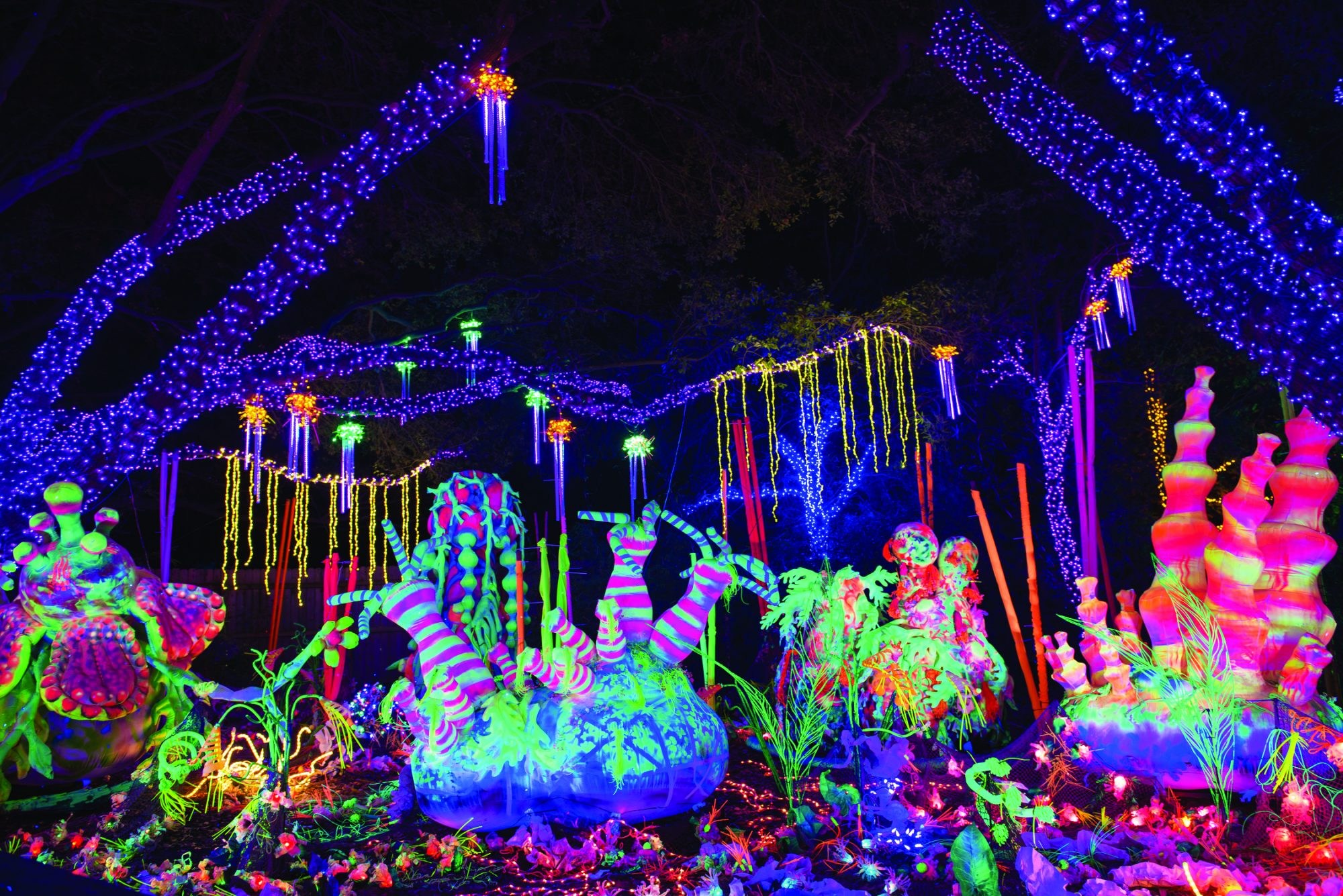 Houston Zoo Lights in Houston, Texas