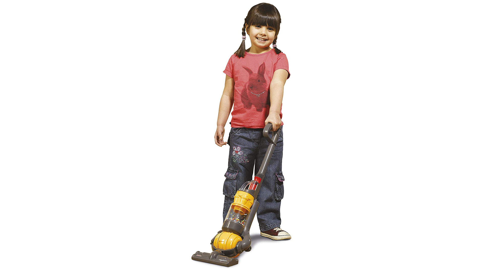 Dyson Vacuum Cleaner Toy with Girl
