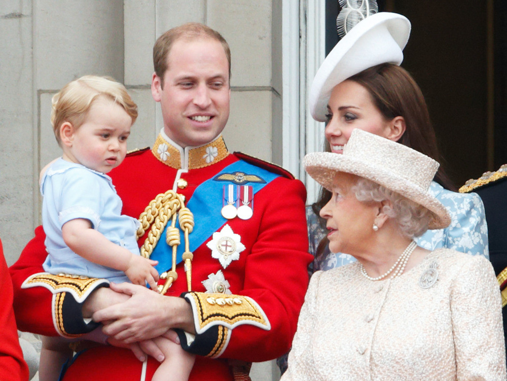 Kate Middleton Just Revealed the Nickname George and Charlotte Have for Dad Prince William george-3