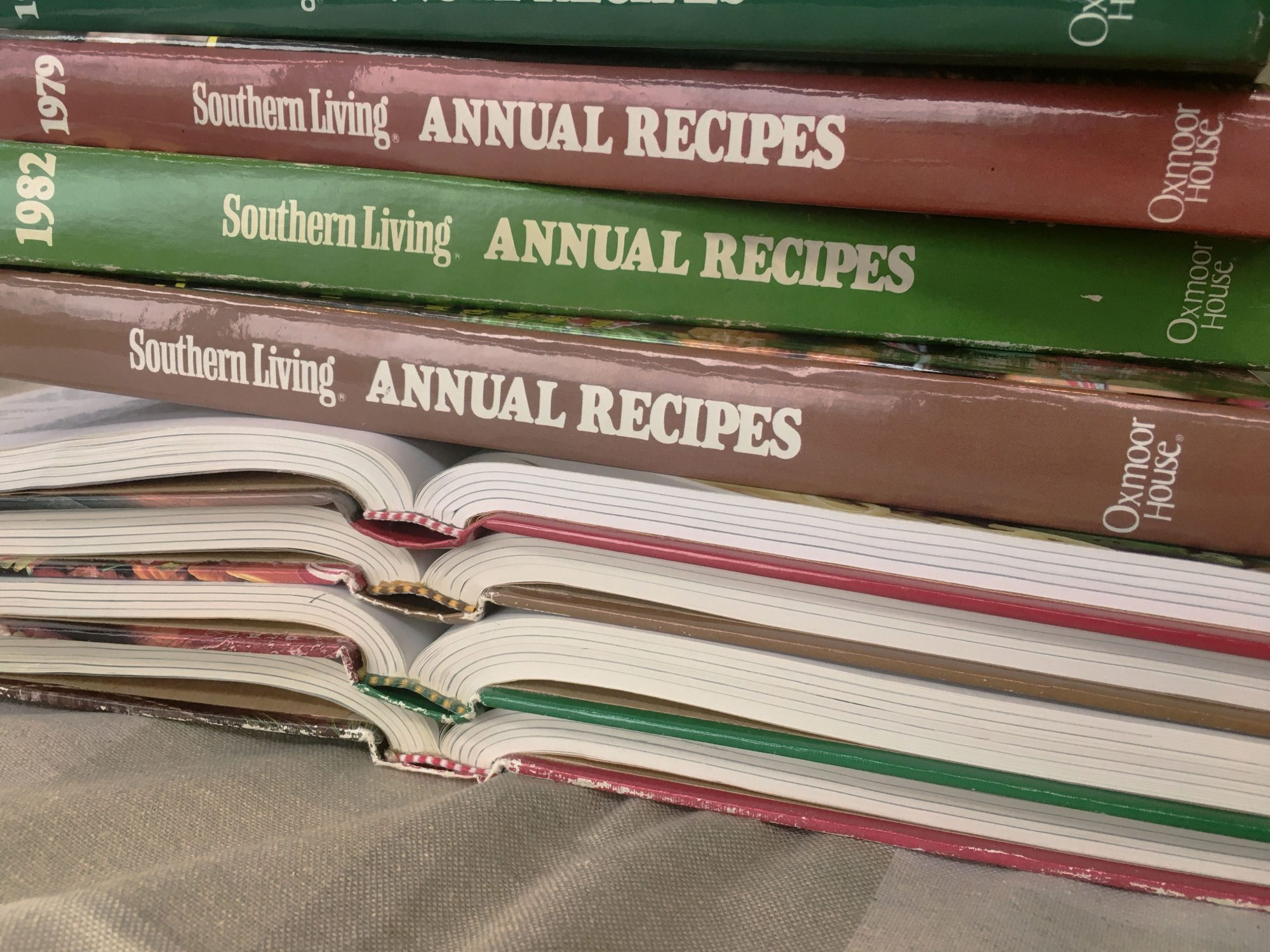 Southern Living Annual Recipes 1980s