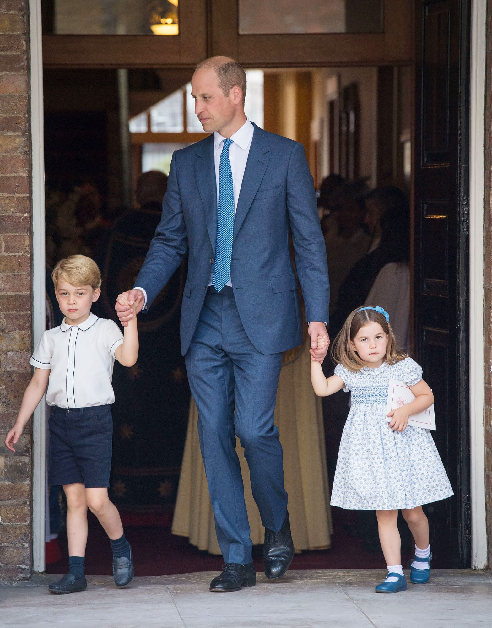 Kate Middleton Just Revealed the Nickname George and Charlotte Have for Dad Prince William louis-15