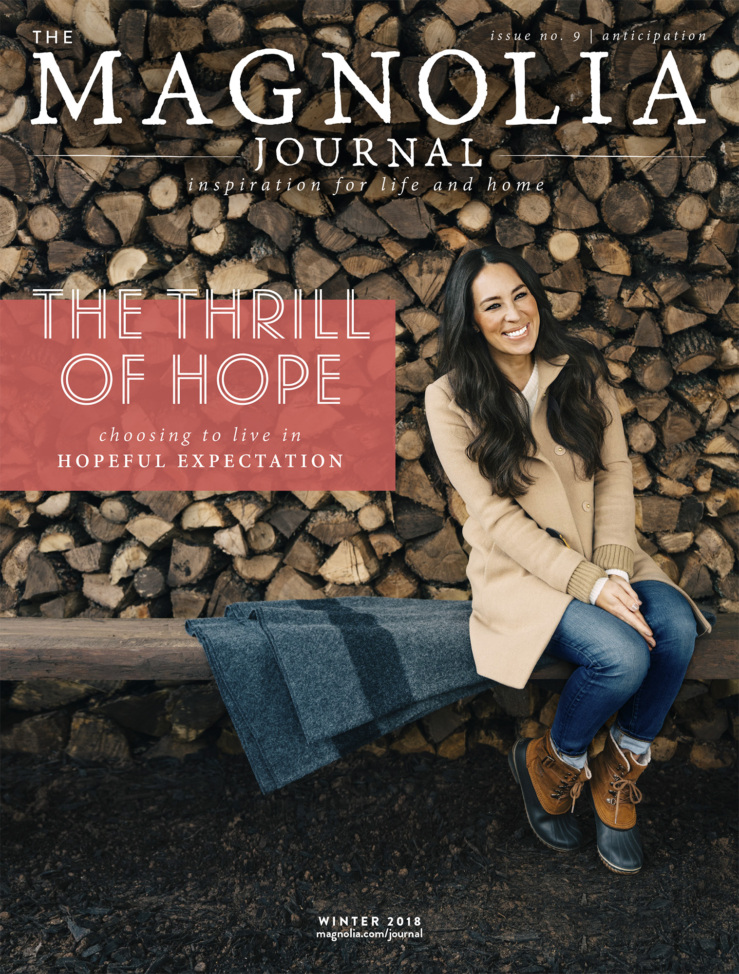 These Are the Christmas Traditions Joanna Gaines Will Never Change: 'It's Perfectly Nostalgic' magnolia-magazine-winter-2018-cover