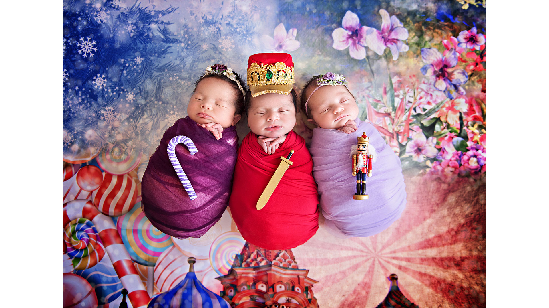 Nutcracker Baby Photoshoot