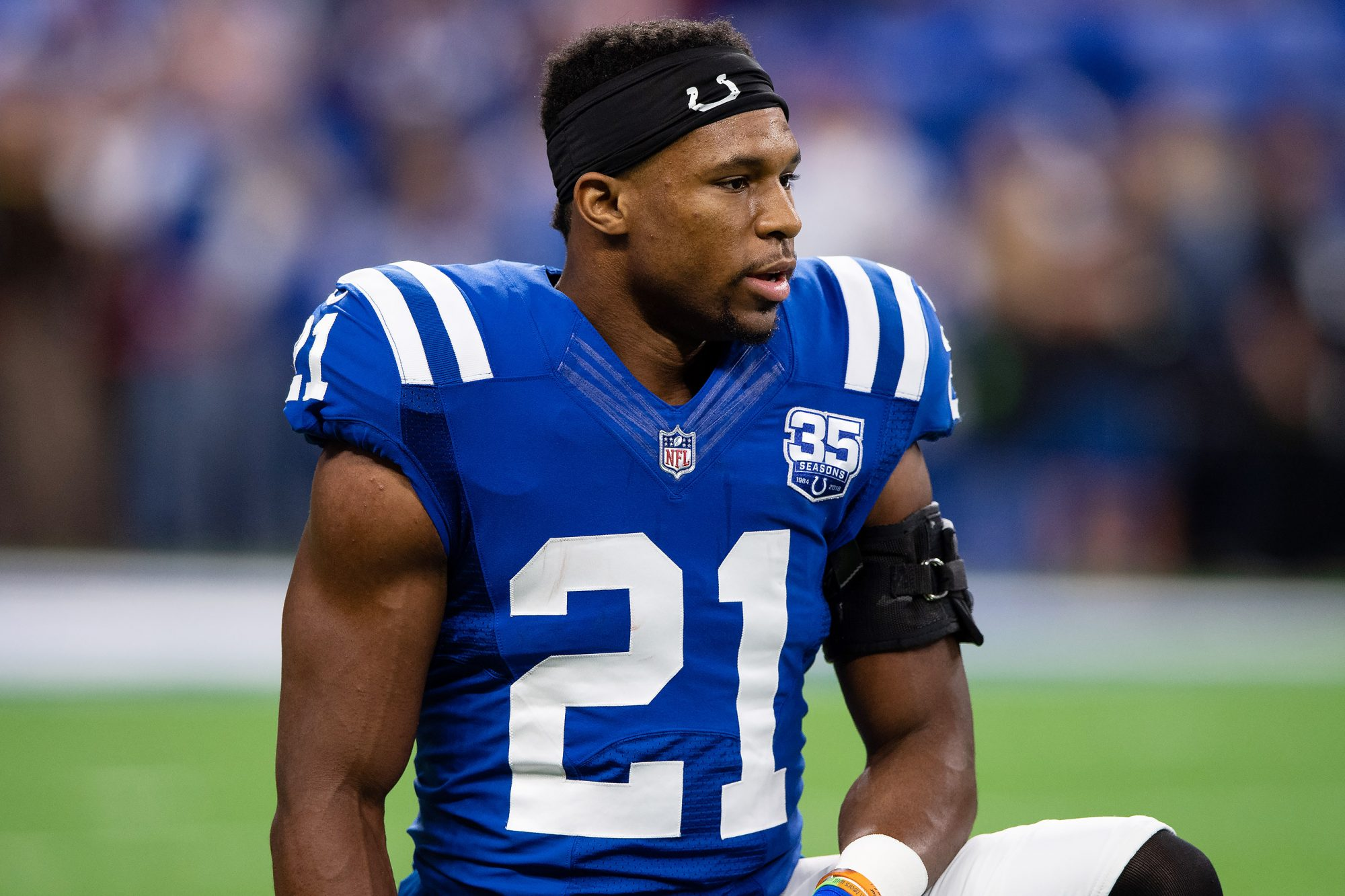 NFL Star Nyheim Hines Spends His Bye Week Working at Bojangles Despite $400K Salary — Here's Why nyheim-hines