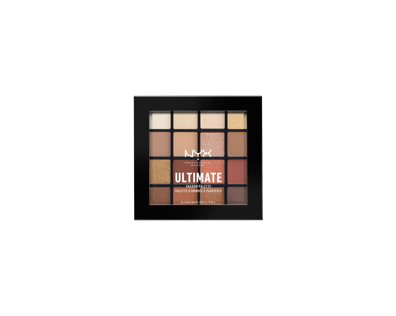 NYX Professional Warm Neutral Ultimate Shadow Palette
