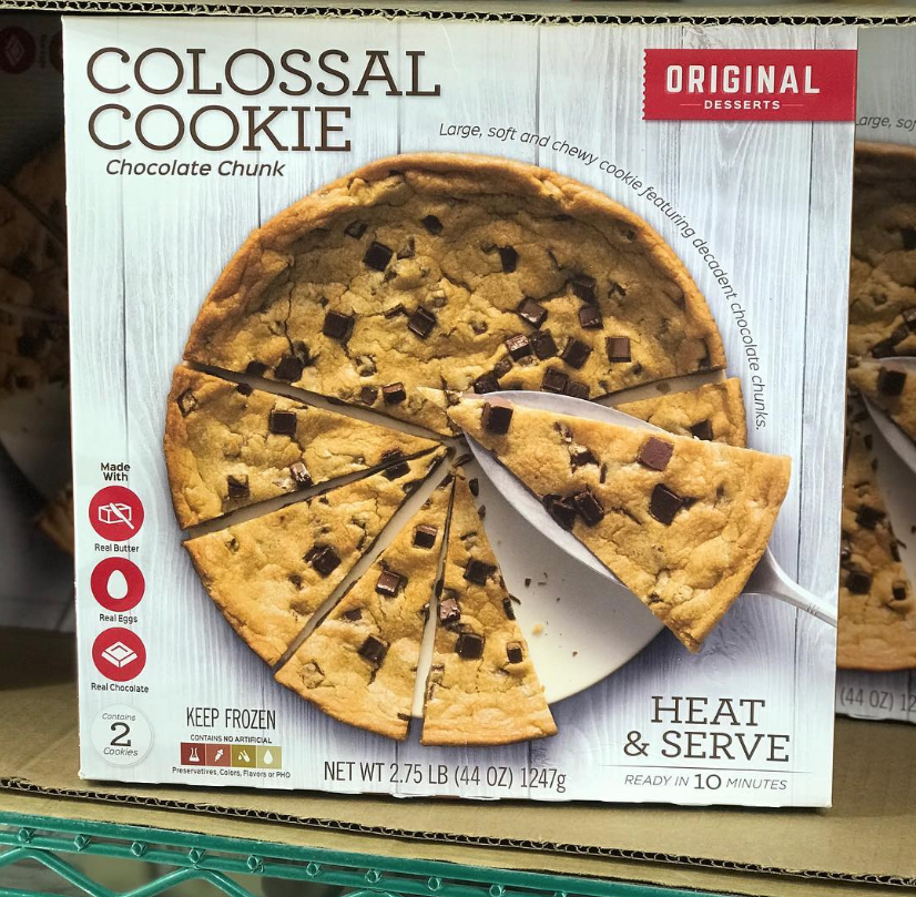 Costco Has a 3-Pound Colossal Cookie