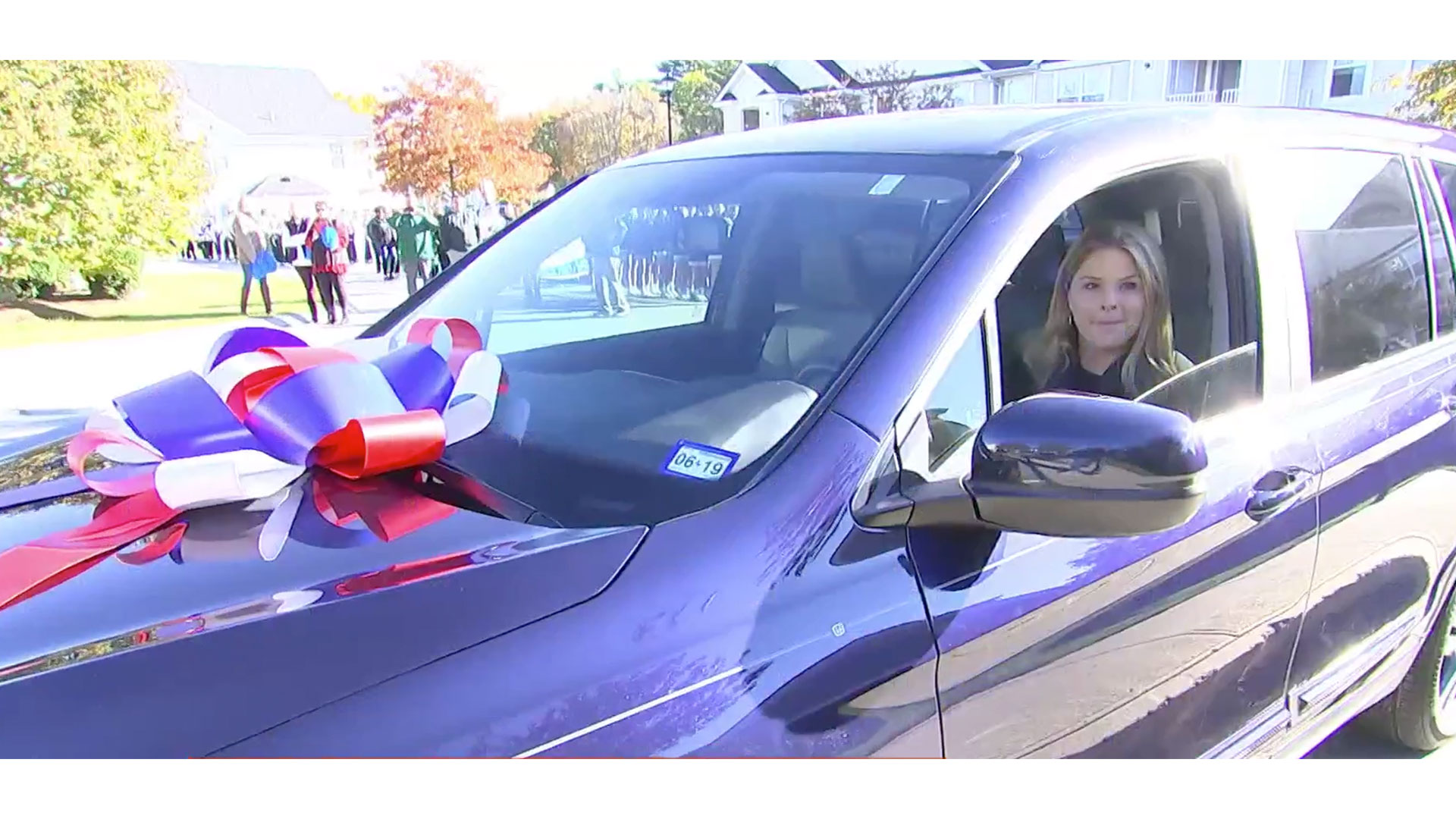 Jenna Bush Hager New Car Veteran