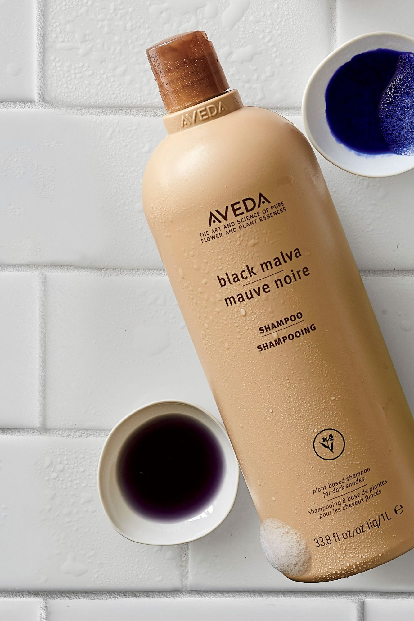 Aveda Black Malva Shampoo for Black or Dark Brown Hair