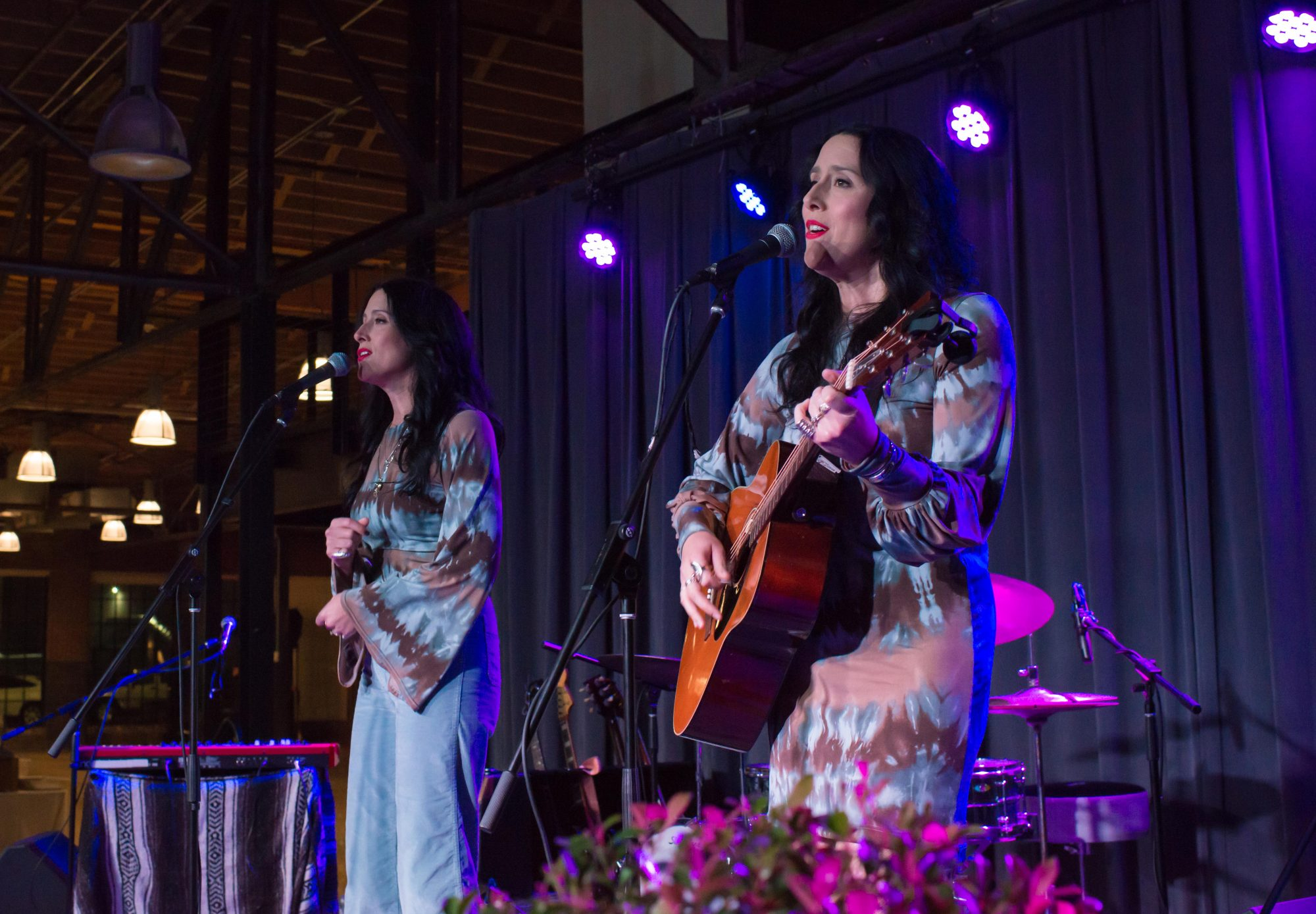 The Watson Twins Performing at Cooking for the Coast