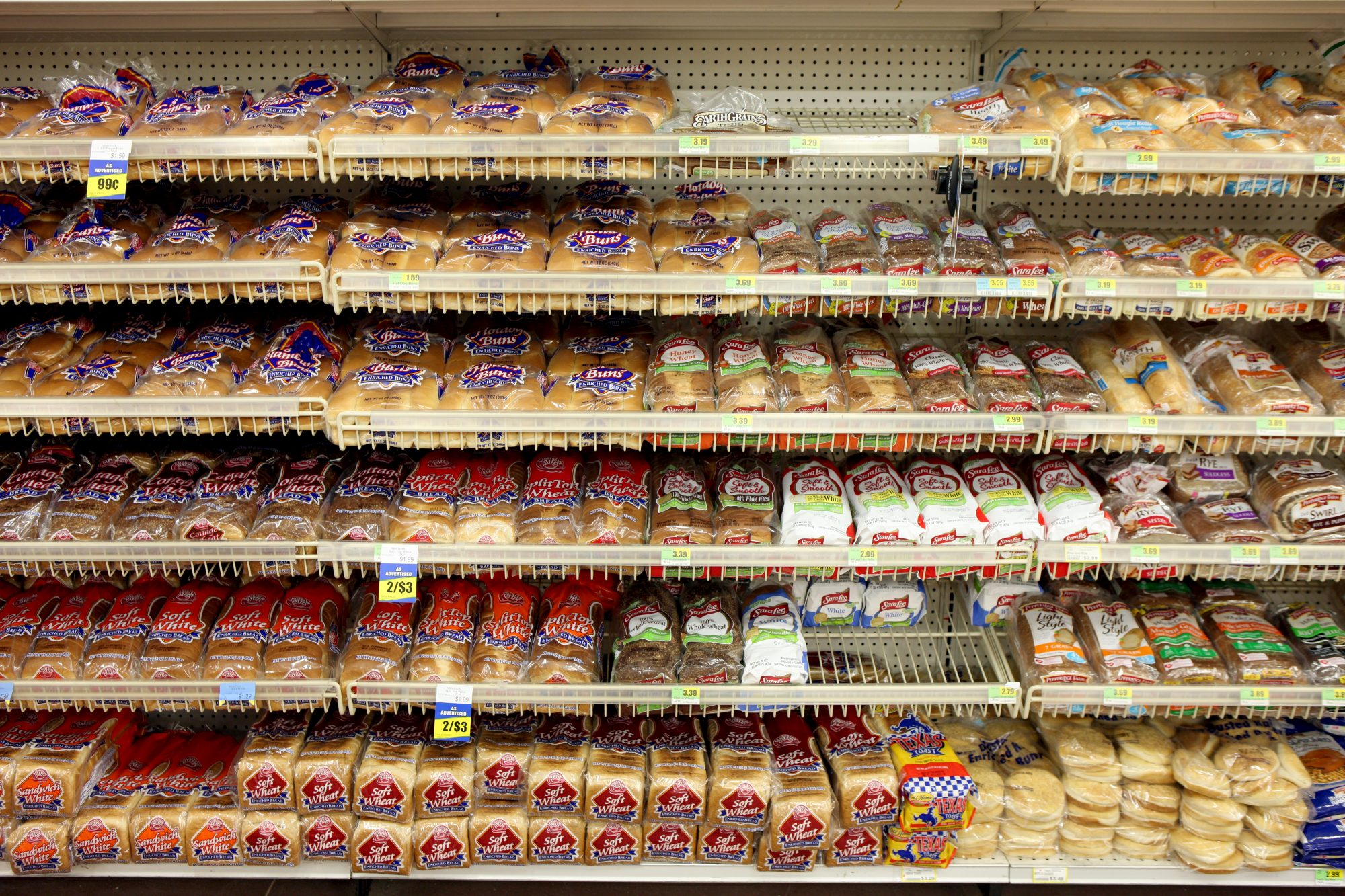 Bread Aisle Grocery Store