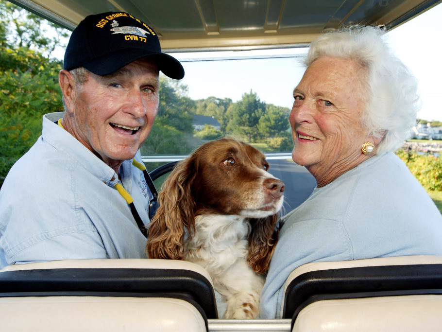 Barbara and George Bush's Epic Love Story: From Their 'Storybook' Meet-Cute to Final Farewell barbara-bush-41