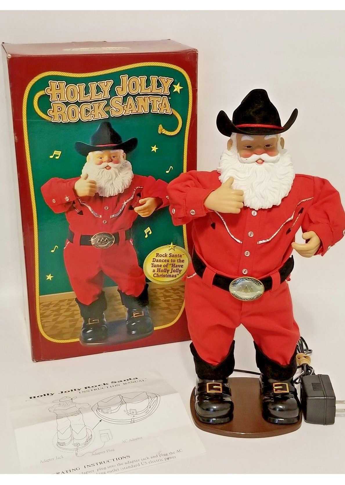 Holly Jolly Rock Santa