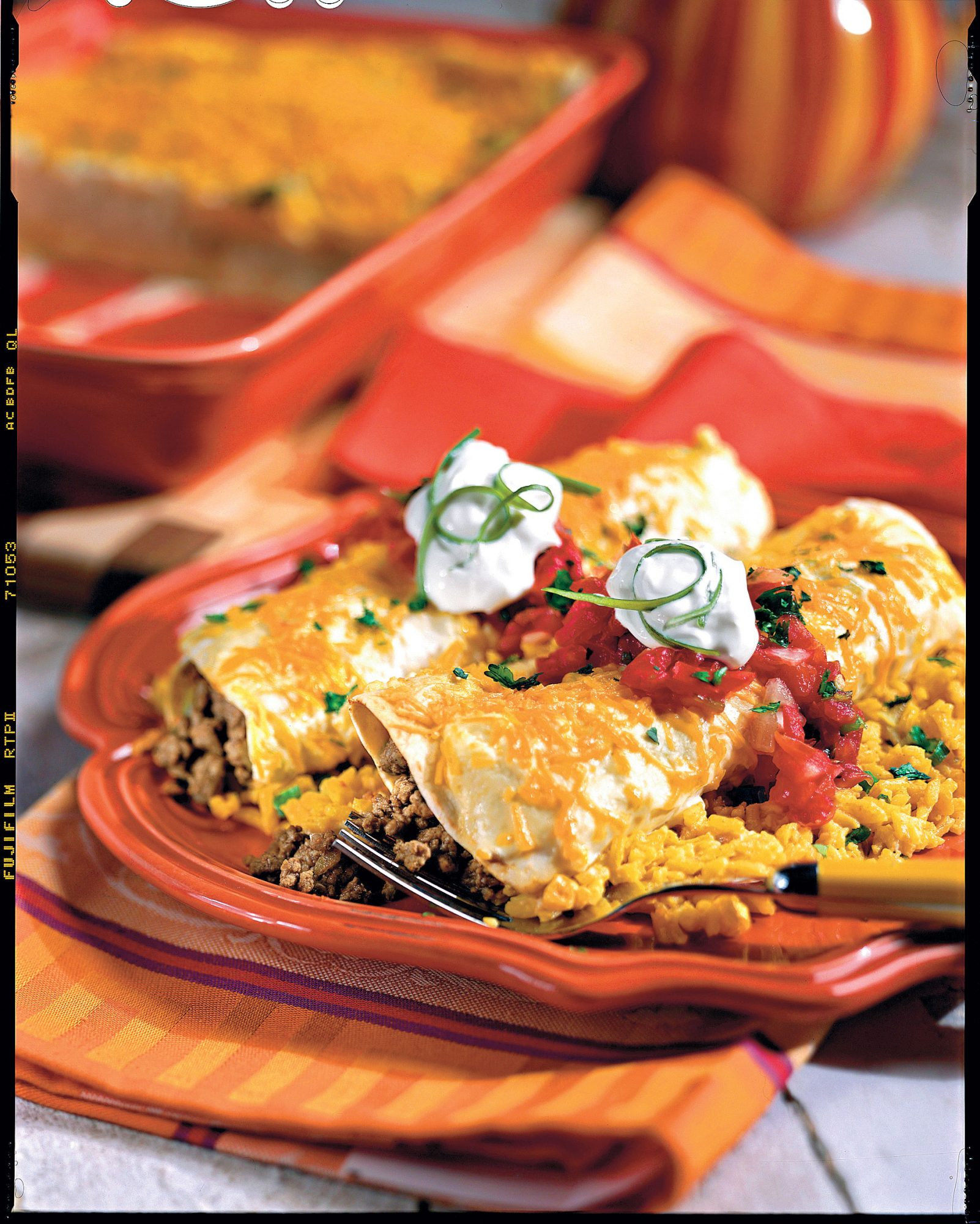 Ground Beef Recipes: Smothered Enchiladas