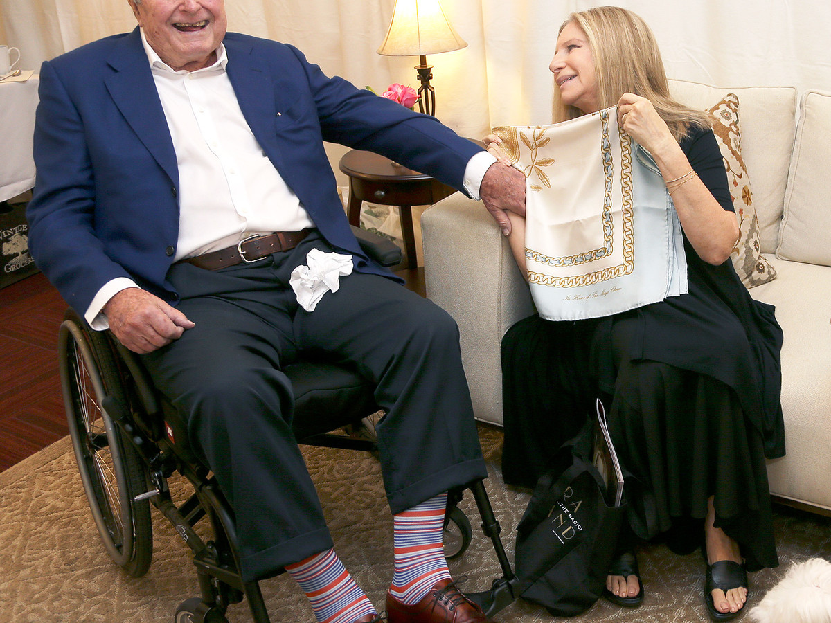 Americans Remember George H.W. Bush with Touching #SocksForBush Social Media Campaign george-bush-2