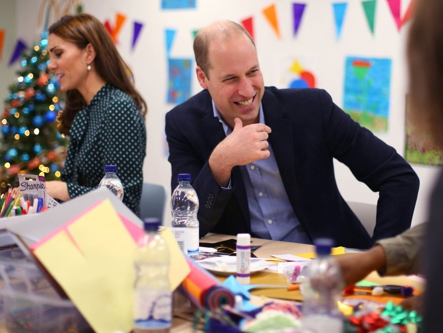 Prince William Jokes That 5-Year-Old Prince George 'Knows I'm Useless' at This Holiday Task gettyimages-1071785092