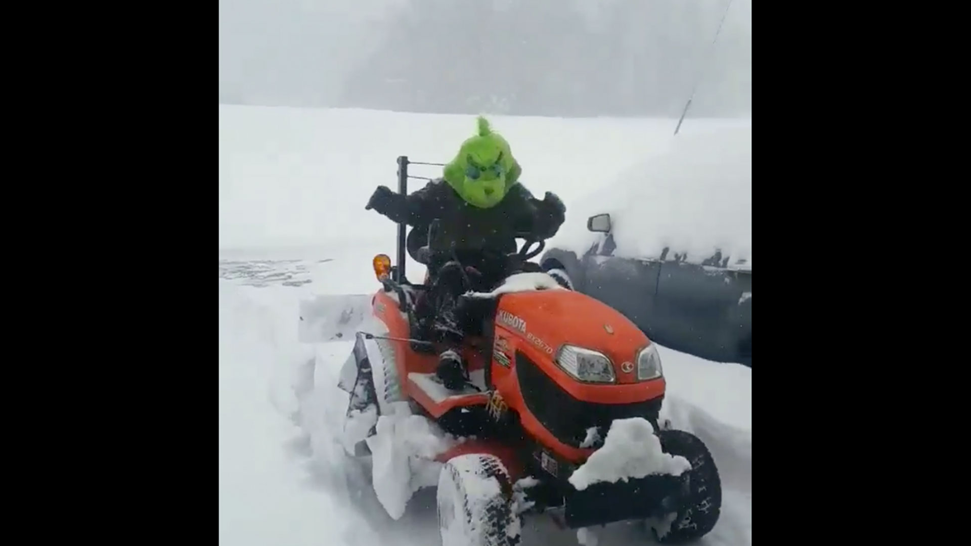 Plowing Grinch