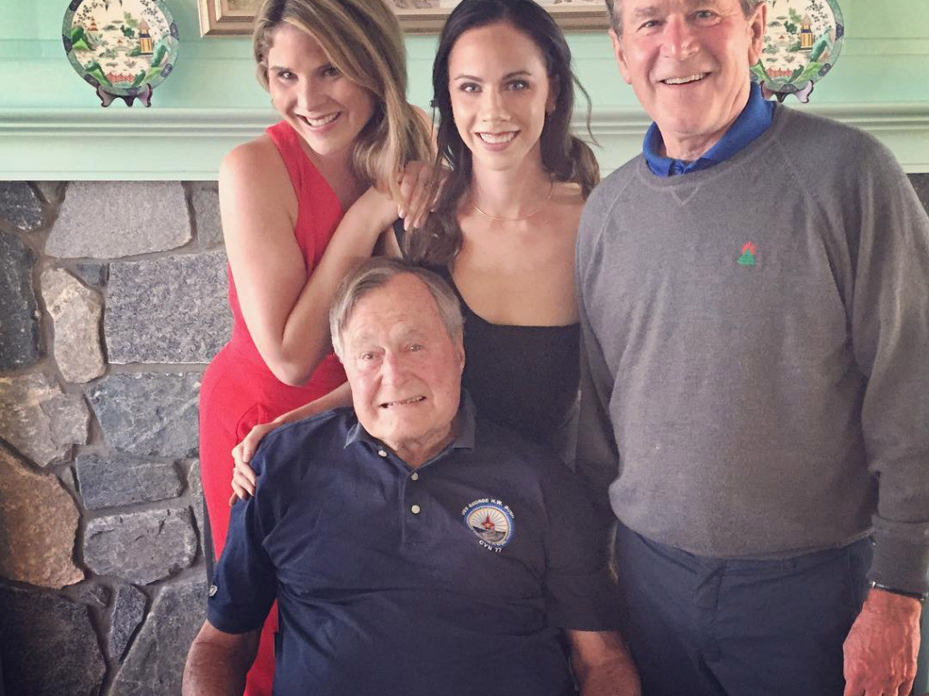 George W. Bush Opens Up About Father's Death by Remembering His Parents' Long Love Story                                  jenna-bush-1