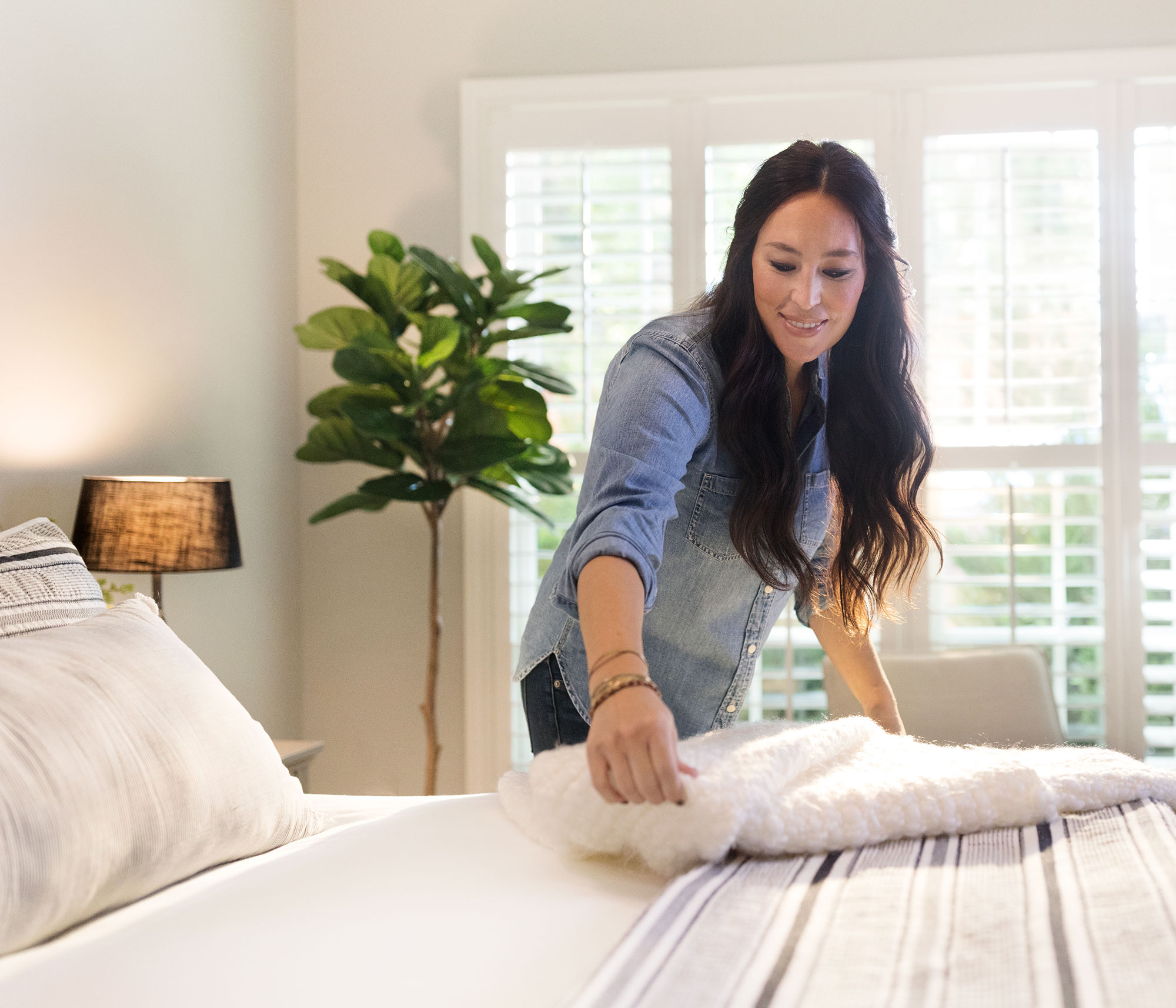 Joanna Gaines Is Launching a Bedding Line at Target! Get a Sneak Peek at Her New Collection joanna-gaines-1-1