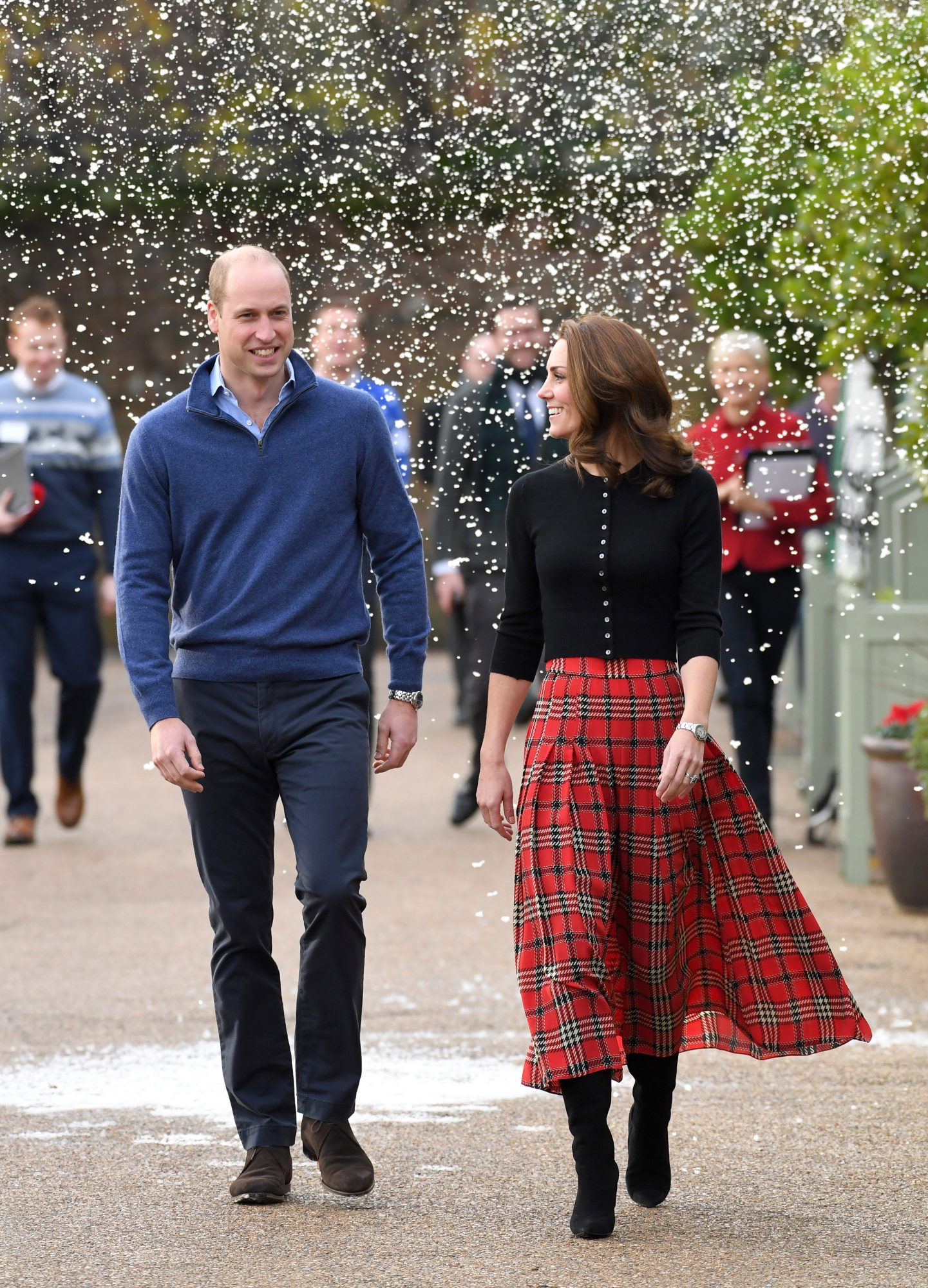Kate's Emilia Wickstead Tartan Skirt