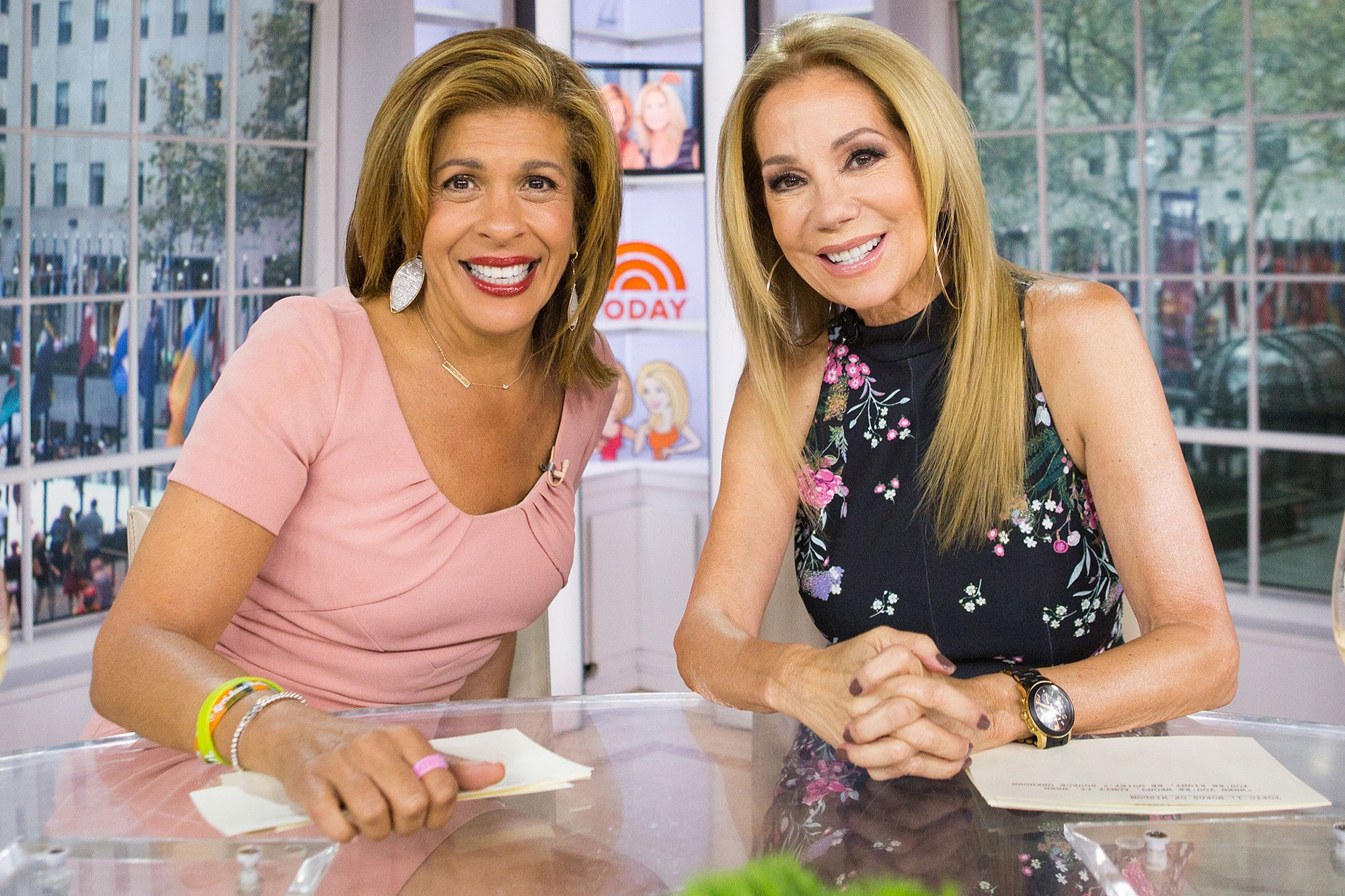 Jenna Bush Hager Is the Frontrunner to Replace Kathie Lee Gifford on Today Show, Source Says kathie-lee-hoda-2