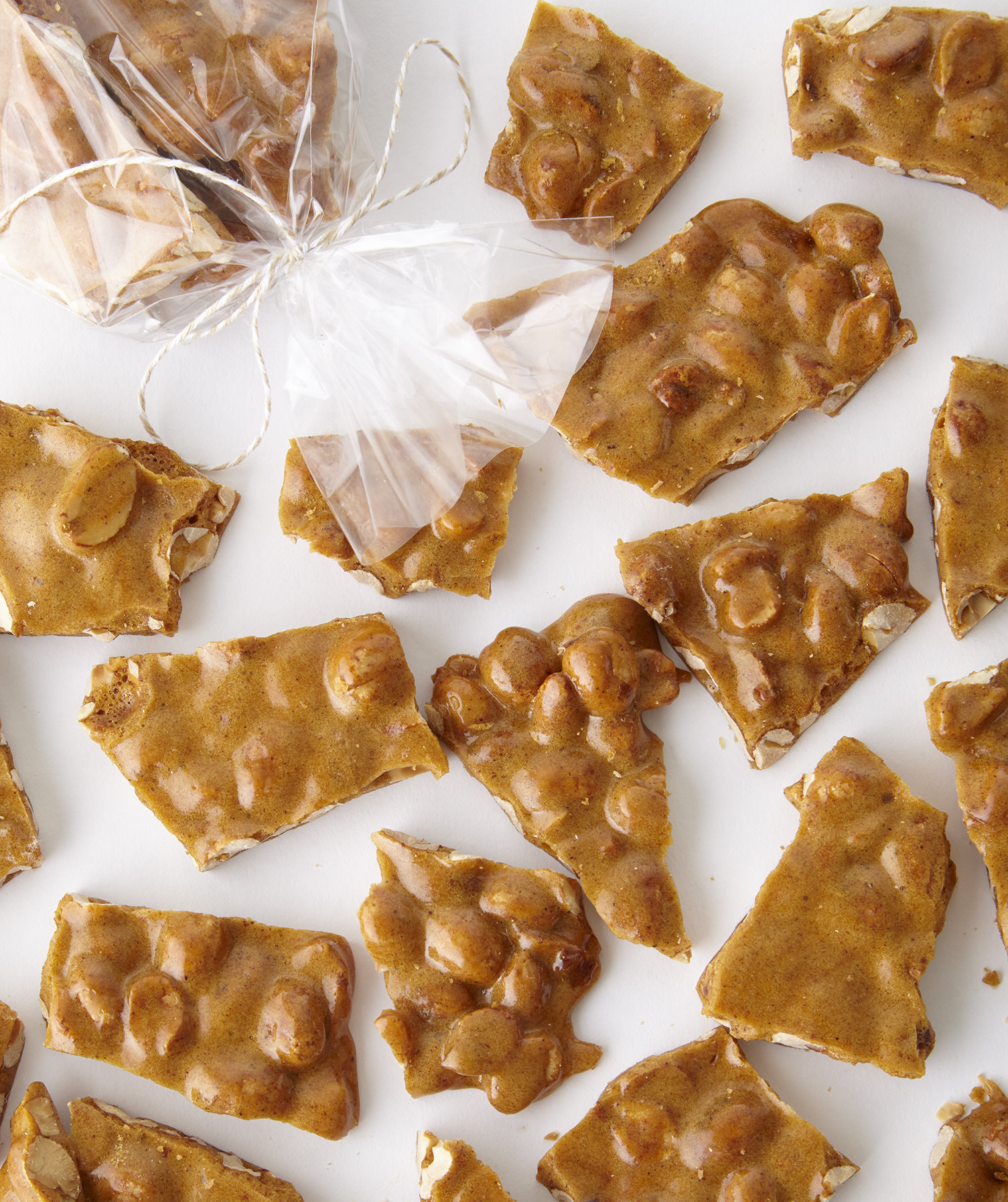Spicy Peanut Brittle