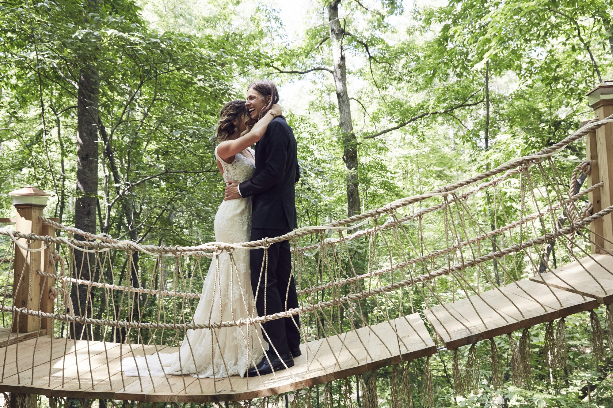 Majestic Treehouse Bolt Wedding Photo
